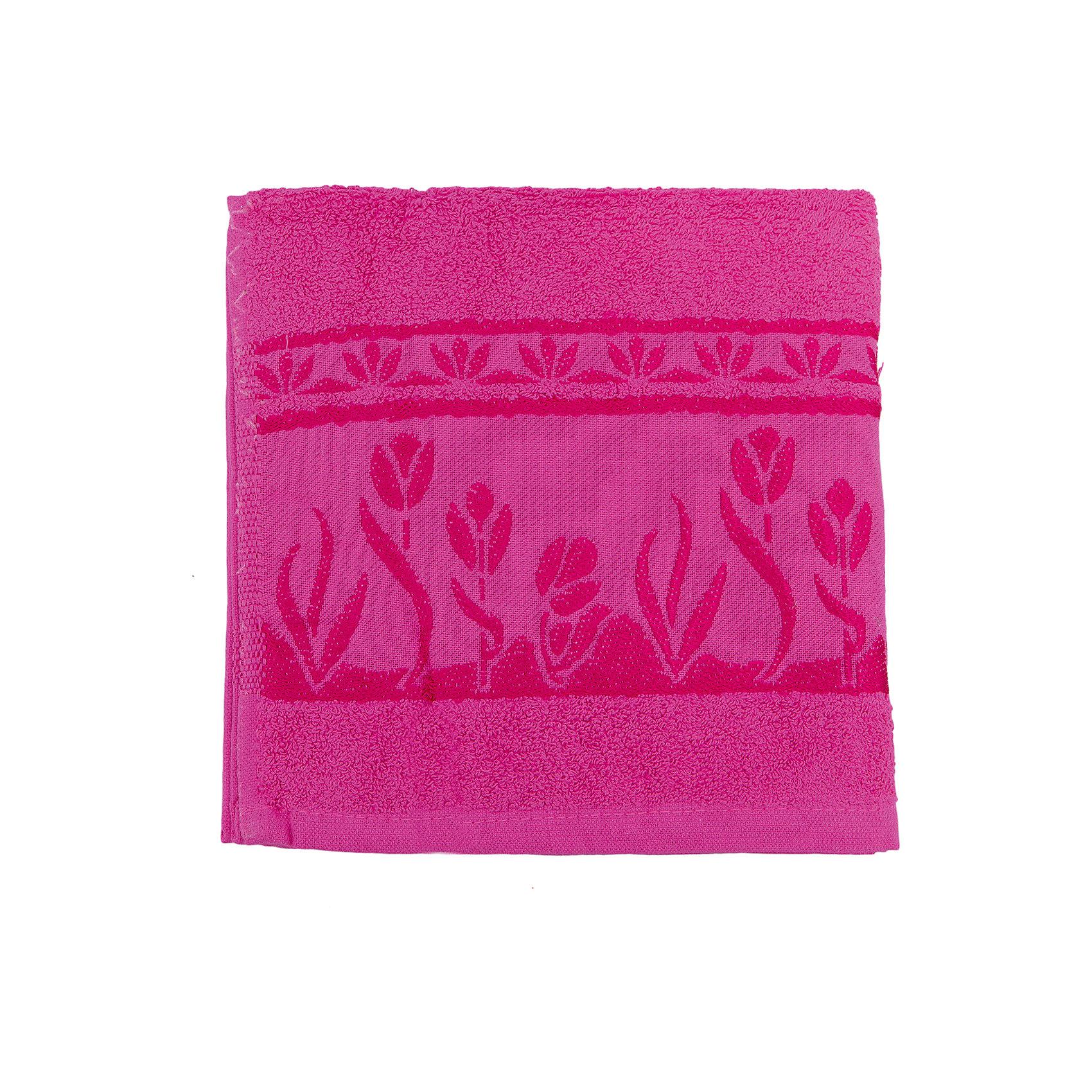 Полотенце махровое Tulips 50*100, Португалия, ярко-розовыйВанная комната<br>Tulips - махровое полотенце из натурального качественного хлопка. Она хорошо впитает влагу и подарит вам ощущение мягкости после водных процедур. Полотенце износостойкое и хорошо сохраняет цвет. Украшено жаккардовым узором. <br><br>Дополнительная информация:<br>Материал: 100% хлопок<br>Плотность: 500 г/м2<br>Размер: 50х100 см<br>Цвет: ярко-розовый<br>Торговая марка: Португалия<br><br>Вы можете приобрести махровое полотенце Tulips  в нашем интернет-магазине.<br><br>Ширина мм: 500<br>Глубина мм: 500<br>Высота мм: 200<br>Вес г: 350<br>Возраст от месяцев: 0<br>Возраст до месяцев: 144<br>Пол: Унисекс<br>Возраст: Детский<br>SKU: 5010949