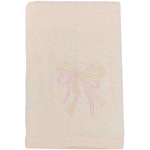 Полотенце махровое Бантик 60*130, Любимый дом, молочныйПолотенца<br>Махровое полотенце Бантик изготовлено из качественного хлопка. Отлично впитывает влагу, сохраняет цвет после стирок и дарит вашей коже комфорт после водных процедур. Полотенце украшено вышивкой в виде бантиков. <br><br>Дополнительная информация:<br>Цвет: молочный<br>Материал: 100% хлопок<br>Размер: 60х130 см<br>Торговая марка: Любимый дом<br><br>Купить махровое полотенце Бантик можно в нашем интернет-магазине.<br><br>Ширина мм: 500<br>Глубина мм: 500<br>Высота мм: 200<br>Вес г: 300<br>Возраст от месяцев: 0<br>Возраст до месяцев: 144<br>Пол: Унисекс<br>Возраст: Детский<br>SKU: 5010965