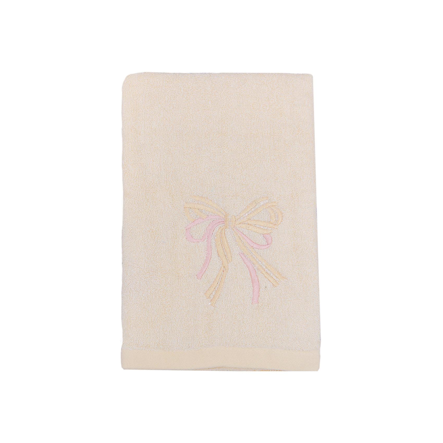 Полотенце махровое Бантик 60*130, Любимый дом, молочныйВанная комната<br>Махровое полотенце Бантик изготовлено из качественного хлопка. Отлично впитывает влагу, сохраняет цвет после стирок и дарит вашей коже комфорт после водных процедур. Полотенце украшено вышивкой в виде бантиков. <br><br>Дополнительная информация:<br>Цвет: молочный<br>Материал: 100% хлопок<br>Размер: 60х130 см<br>Торговая марка: Любимый дом<br><br>Купить махровое полотенце Бантик можно в нашем интернет-магазине.<br><br>Ширина мм: 500<br>Глубина мм: 500<br>Высота мм: 200<br>Вес г: 300<br>Возраст от месяцев: 0<br>Возраст до месяцев: 144<br>Пол: Унисекс<br>Возраст: Детский<br>SKU: 5010965