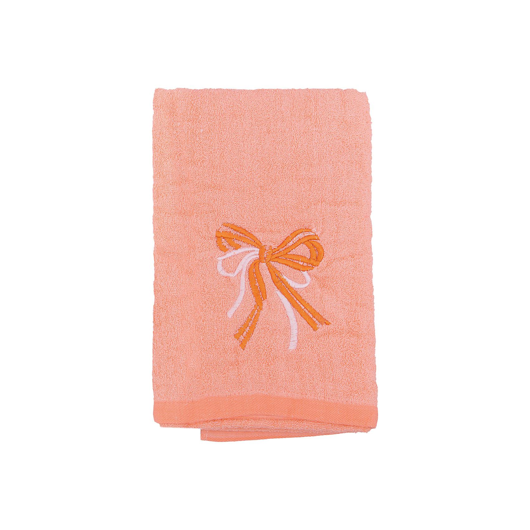 Полотенце махровое Бантик 60*130, Любимый дом, персиковыйМахровое полотенце Бантик изготовлено из качественного хлопка. Отлично впитывает влагу, сохраняет цвет после стирок и дарит вашей коже комфорт после водных процедур. Полотенце украшено вышивкой в виде бантиков. <br><br>Дополнительная информация:<br>Цвет: персиковый<br>Материал: 100% хлопок<br>Размер: 60х130 см<br>Торговая марка: Любимый дом<br><br>Купить махровое полотенце Бантик можно в нашем интернет-магазине.<br><br>Ширина мм: 500<br>Глубина мм: 500<br>Высота мм: 200<br>Вес г: 300<br>Возраст от месяцев: 0<br>Возраст до месяцев: 144<br>Пол: Унисекс<br>Возраст: Детский<br>SKU: 5010966