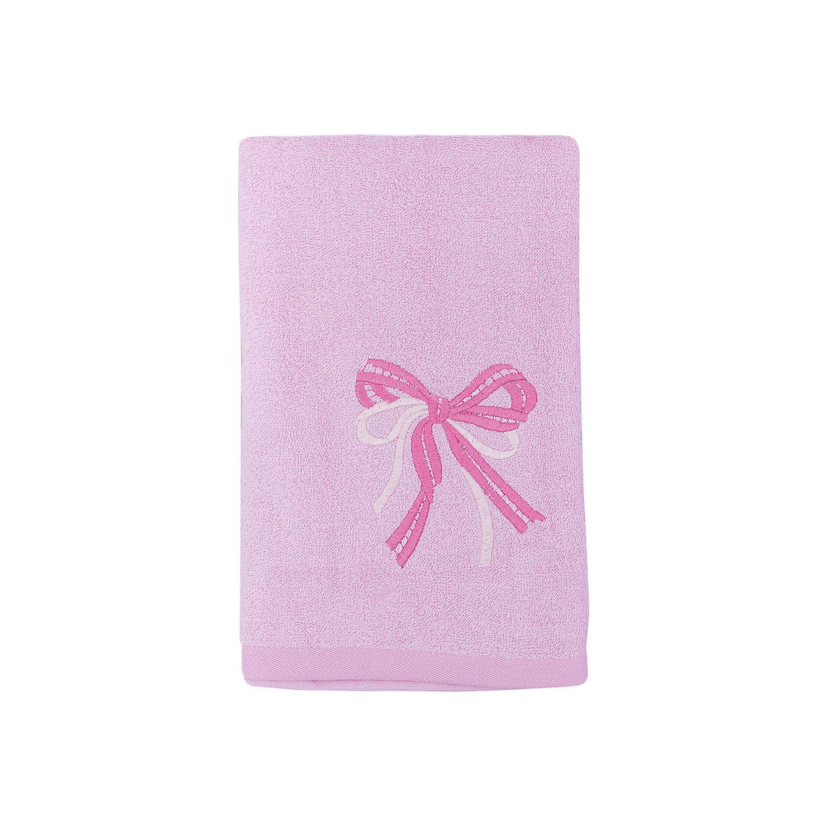 Любимый дом Полотенце махровое Бантик 60*130, Любимый дом, розовый хочу купить дом в октябрьском башкирии