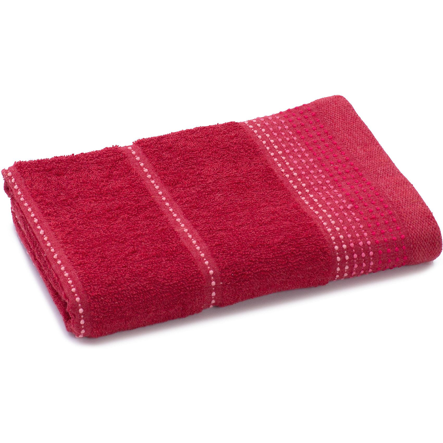 Полотенце махровое Клео 60*130, Любимый дом, малиновыйВанная комната<br>Махровое полотенце Клео очень мягкое и приятное телу. Оно изготовлено из качественного хлопка, отлично впитывает влагу. Полотенце украшено контрастной вышивкой по краю. Отлично впишется в вашу ванную комнату.<br><br>Дополнительная информация:<br>Материал: 100% хлопок<br>Цвет: малиновый<br>Размер: 60х130 см<br>Торговая марка: Любимый дом<br><br>Вы можете приобрести махровое полотенце Клео в нашем интернет-магазине.<br><br>Ширина мм: 500<br>Глубина мм: 500<br>Высота мм: 200<br>Вес г: 300<br>Возраст от месяцев: 0<br>Возраст до месяцев: 144<br>Пол: Унисекс<br>Возраст: Детский<br>SKU: 5010970