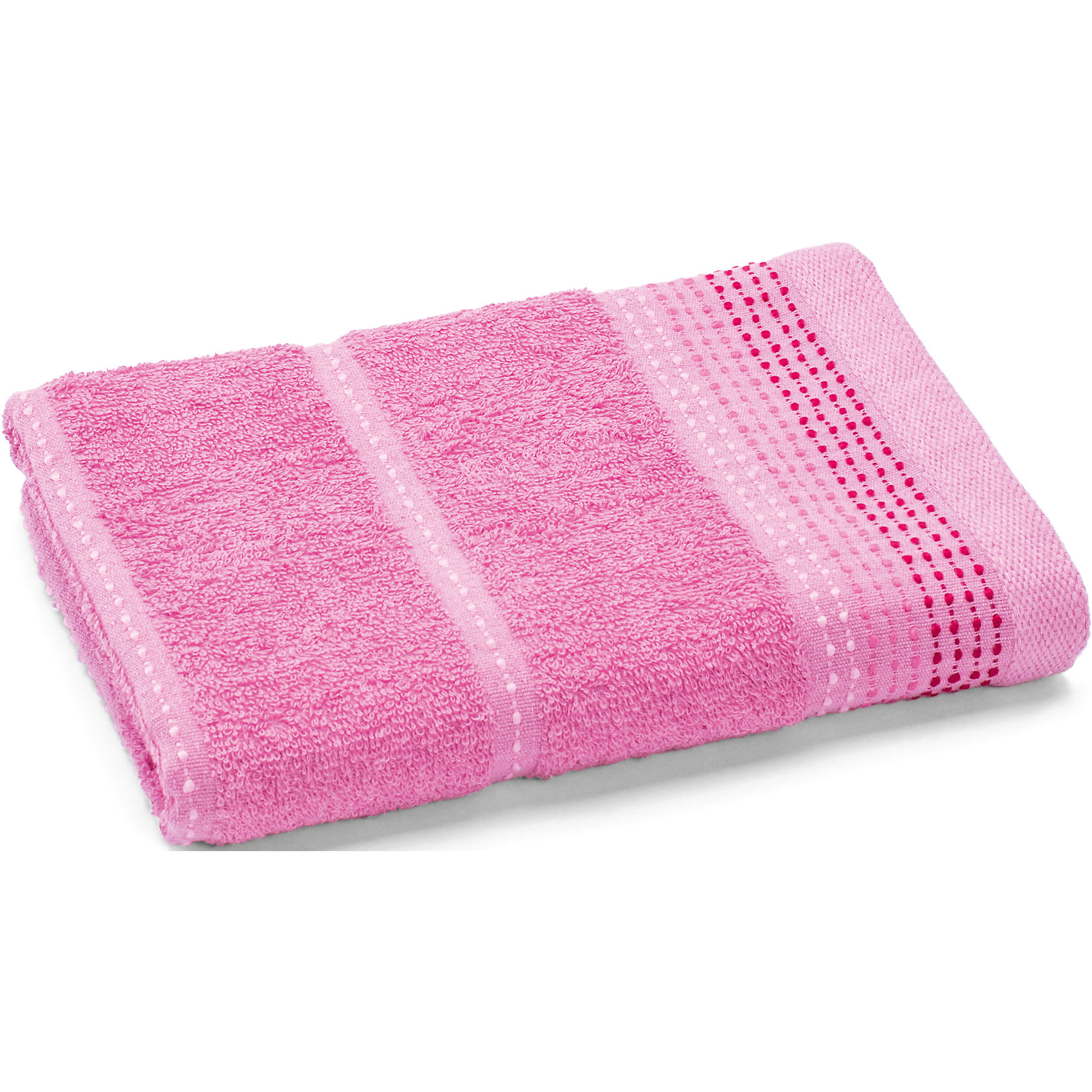 Любимый дом Полотенце махровое Клео 60*130, Любимый дом, розовый