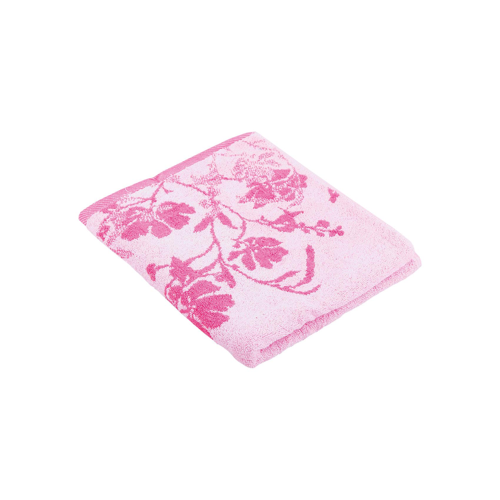 Любимый дом Полотенце махровое Космея 60*130, Любимый дом, розовый полотенца банные любимый дом полотенце 70х140