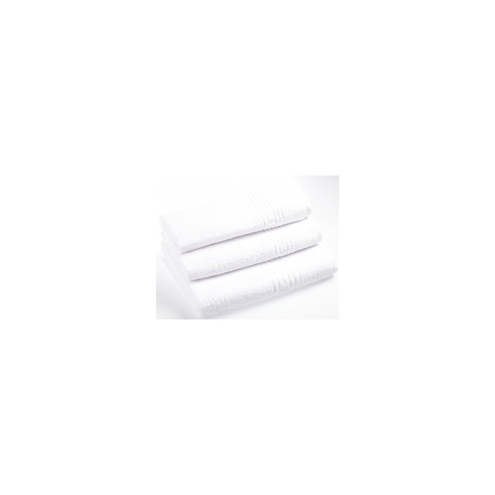 Полотенце махровое Greek 70*140, Португалия, белый
