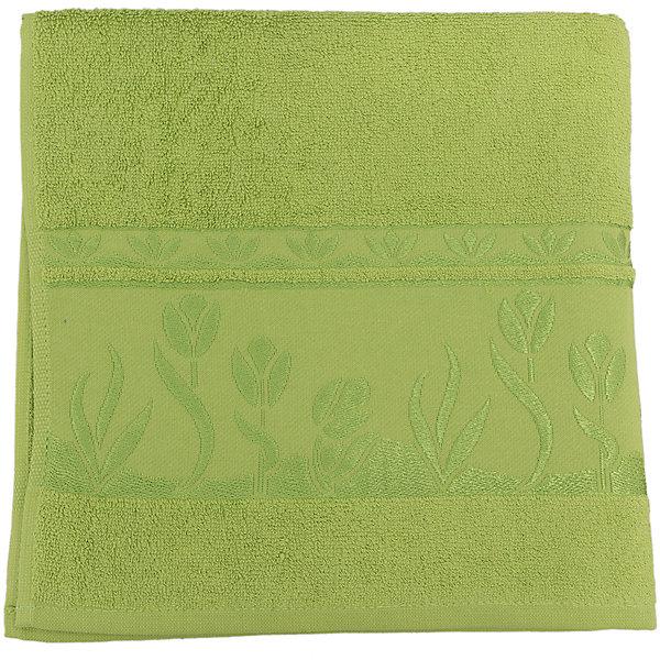 Полотенце махровое Tulips 70*140, Португалия, зеленыйПолотенца<br>Tulips - махровое полотенце из натурального качественного хлопка. Она хорошо впитает влагу и подарит вам ощущение мягкости после водных процедур. Полотенце износостойкое и хорошо сохраняет цвет. Украшено жаккардовым узором. <br><br>Дополнительная информация:<br>Материал: 100% хлопок<br>Плотность: 500 г/м2<br>Размер: 70х140 см<br>Цвет: зеленый<br>Торговая марка: Португалия<br><br>Вы можете приобрести махровое полотенце Tulips  в нашем интернет-магазине.<br>Ширина мм: 500; Глубина мм: 500; Высота мм: 200; Вес г: 400; Возраст от месяцев: 0; Возраст до месяцев: 144; Пол: Унисекс; Возраст: Детский; SKU: 5010984;