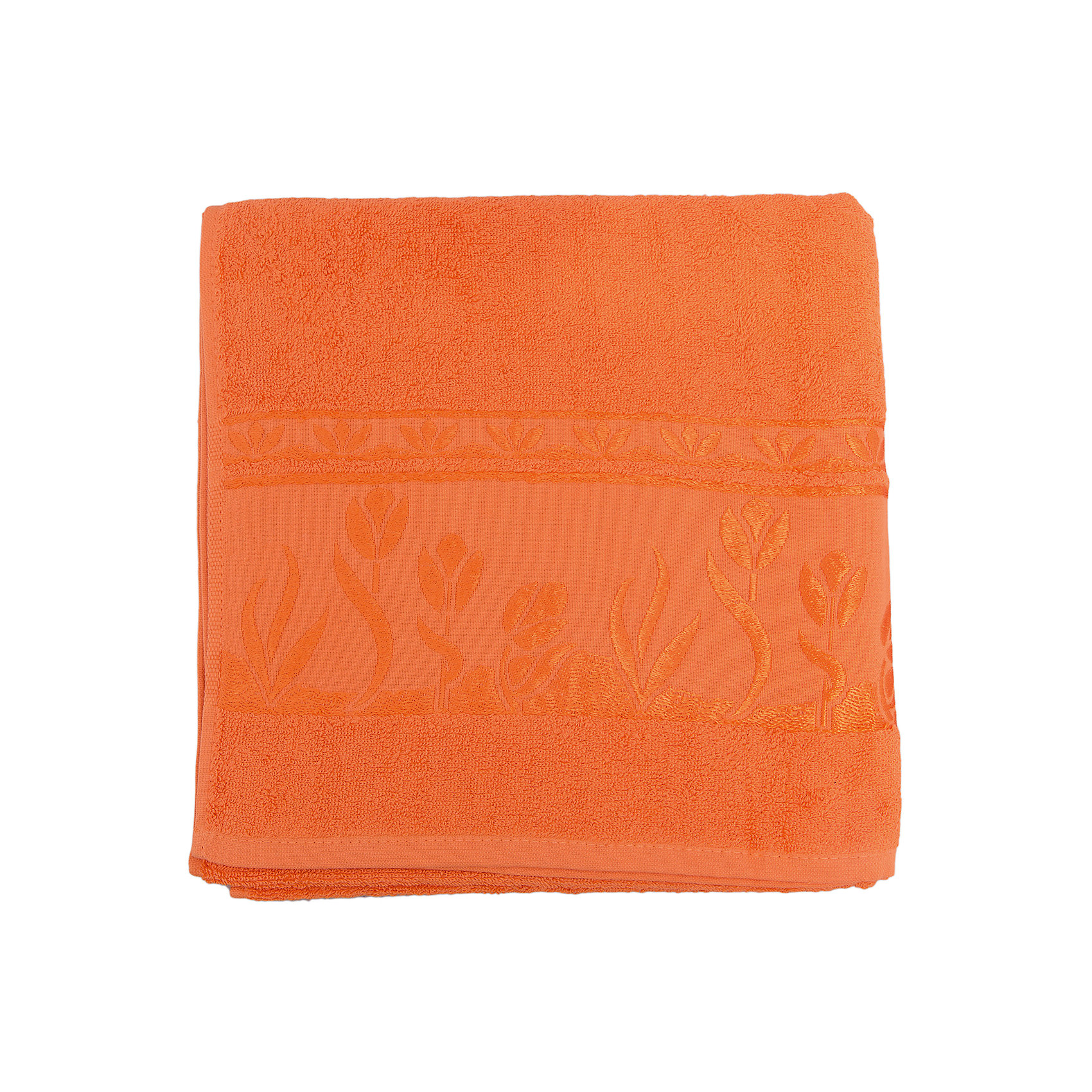 Полотенце махровое Tulips 70*140, Португалия, оранжевыйTulips - махровое полотенце из натурального качественного хлопка. Она хорошо впитает влагу и подарит вам ощущение мягкости после водных процедур. Полотенце износостойкое и хорошо сохраняет цвет. Украшено жаккардовым узором. <br><br>Дополнительная информация:<br>Материал: 100% хлопок<br>Плотность: 500 г/м2<br>Размер: 70х140 см<br>Цвет: оранжевый<br>Торговая марка: Португалия<br><br>Вы можете приобрести махровое полотенце Tulips  в нашем интернет-магазине.<br><br>Ширина мм: 500<br>Глубина мм: 500<br>Высота мм: 200<br>Вес г: 400<br>Возраст от месяцев: 0<br>Возраст до месяцев: 144<br>Пол: Унисекс<br>Возраст: Детский<br>SKU: 5010985