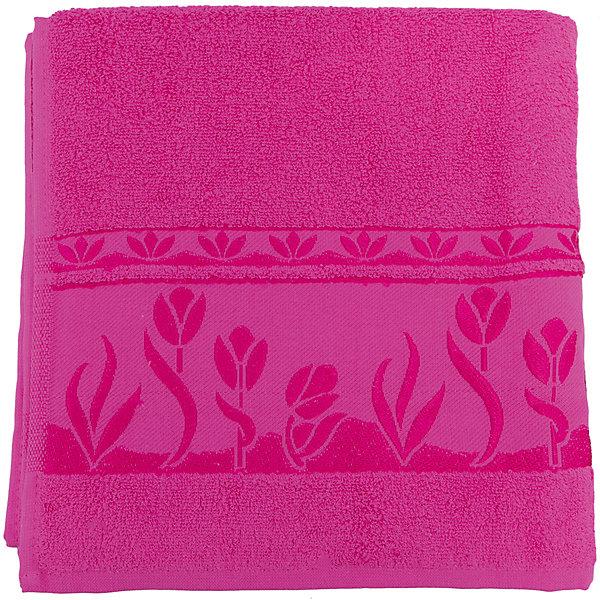 Полотенце махровое Tulips 70*140, Португалия, ярко-розовыйПолотенца<br>Tulips - махровое полотенце из натурального качественного хлопка. Она хорошо впитает влагу и подарит вам ощущение мягкости после водных процедур. Полотенце износостойкое и хорошо сохраняет цвет. Украшено жаккардовым узором. <br><br>Дополнительная информация:<br>Материал: 100% хлопок<br>Плотность: 500 г/м2<br>Размер: 70х140 см<br>Цвет: ярко-розовый<br>Торговая марка: Португалия<br><br>Вы можете приобрести махровое полотенце Tulips  в нашем интернет-магазине.<br>Ширина мм: 500; Глубина мм: 500; Высота мм: 200; Вес г: 400; Возраст от месяцев: 0; Возраст до месяцев: 144; Пол: Унисекс; Возраст: Детский; SKU: 5010987;