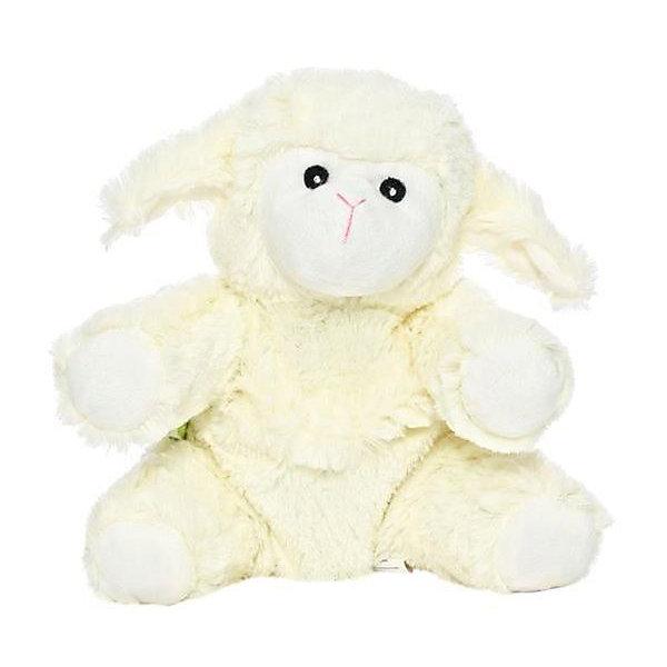 Игрушка-грелка Овечка, Тёплые объятияМягкие игрушки животные<br>Игрушка-грелка Овечка — мягкая и приятная на ощупь игрушка-грелка в виде симпатичной Овечки. Внутри у нее гранулы натуральной гречихи (отлично сохраняет тепло) и лаванды (успокаивает, снимает возбуждение, усиливает иммунитет). А также специальный вкладыш, который можно разогреть в СВЧ-печи до нужной температуры (не более 1 минуты), вставить в игрушку и дать ребенку, чтобы согрелся.<br><br>Вес: 350 г<br>Инд. упаковка: коробка<br>Материал: полиэстер<br>Размеры ДхВхШ: 14 х 14,5 х 10,5<br><br>Ширина мм: 105<br>Глубина мм: 145<br>Высота мм: 140<br>Вес г: 350<br>Возраст от месяцев: 36<br>Возраст до месяцев: 192<br>Пол: Унисекс<br>Возраст: Детский<br>SKU: 5011464