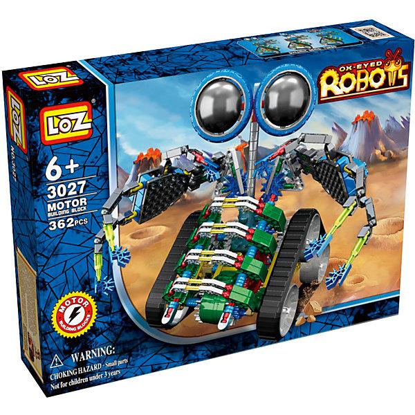 Электромеханический конструктор IROBOT. Роботы. МотоЛокатор, LozПластмассовые конструкторы<br>Электромеханический конструктор iRobot. Серия: Роботы. МотоЛокатор будет замечательным подарком для Вашего ребенка. <br><br>С помощью моторчика робот уверенно передвигается. Такая игрушка хорошо влияет на развитие у ребенка мелкой моторики, логического мышления, внимательности и усидчивости. Конструкторы данной серии уникальны тем, что малыш может играть получившейся игрушкой. Для работы моторчика нужны две батарейки типа АА (в комплект не входят). <br><br>В набор входит 362 деталей конструктора и подробная инструкция. Рекомендовано для детей от 6-ти лет.<br><br>Ширина мм: 50<br>Глубина мм: 185<br>Высота мм: 240<br>Вес г: 340<br>Возраст от месяцев: 72<br>Возраст до месяцев: 180<br>Пол: Мужской<br>Возраст: Детский<br>SKU: 5011473