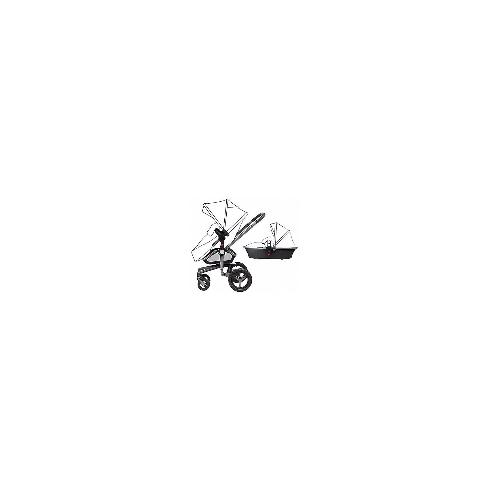 Коляска 2 в 1 Surf, Silver Cross, carrycot/chassis graphite