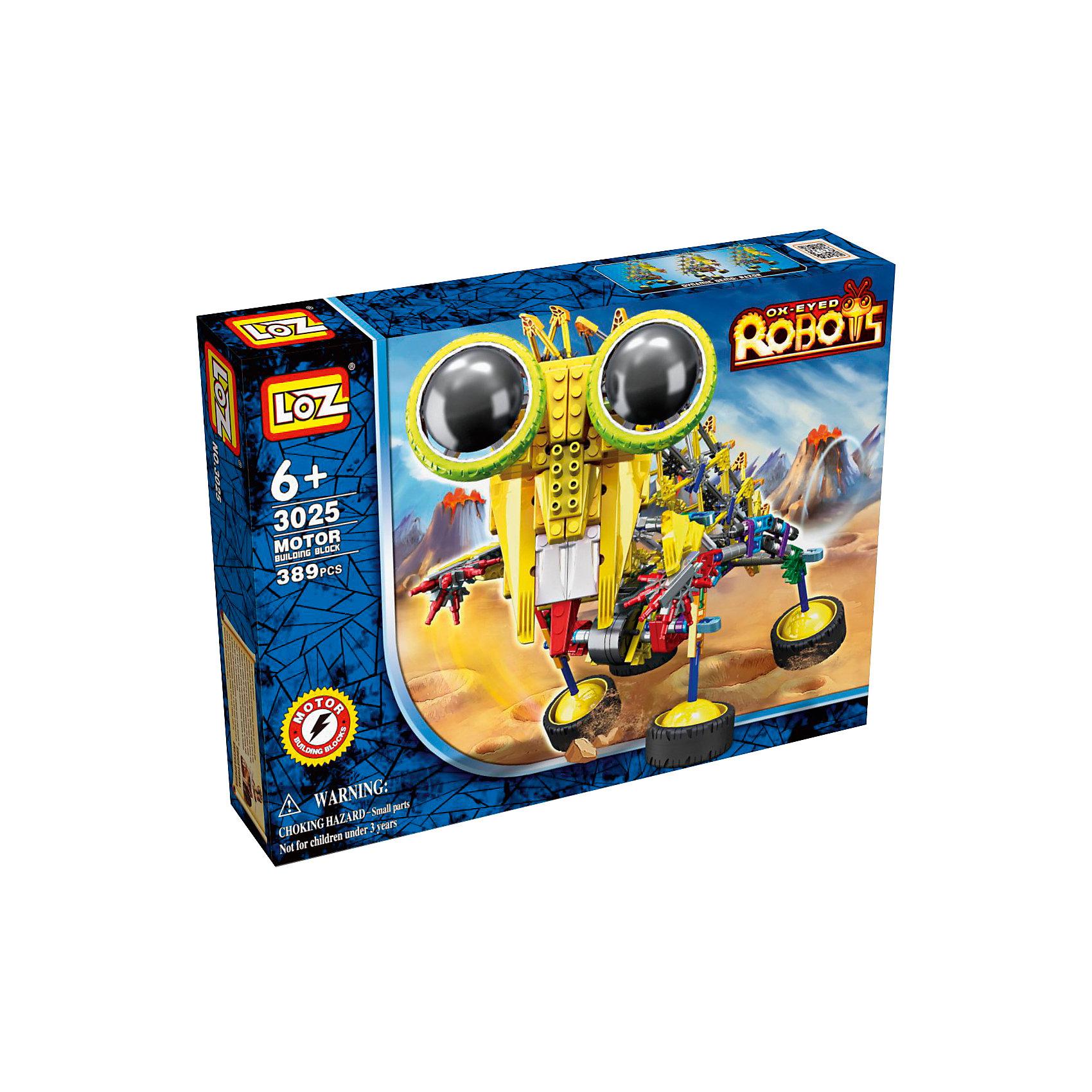 Электромеханический конструктор IROBOT. Роботы. Шиношлеп, LozЭлектромеханический конструктор IROBOT. Роботы. Шиношлеп, Loz будет замечательным подарком для Вашего ребенка. <br><br>Конструкторы данной серии уникальны тем, что малыш может играть получившейся игрушкой.<br><br> Для работы моторчика нужны две батарейки типа АА (в комплект не входят). В набор входит 389 деталей конструктора и подробная инструкция.<br><br>Ширина мм: 50<br>Глубина мм: 260<br>Высота мм: 360<br>Вес г: 620<br>Возраст от месяцев: 72<br>Возраст до месяцев: 180<br>Пол: Мужской<br>Возраст: Детский<br>SKU: 5012255