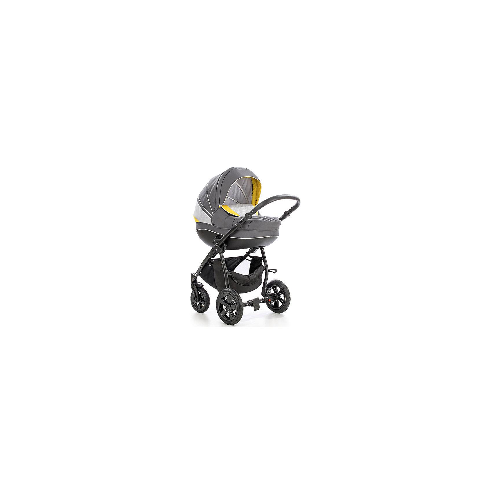 Коляска 2 в 1 MIMI Plus, Tutis, темно-серый/горчица/узорКоляска 2 в 1 MIMI Plus, Tutis, темно-серый/горчица/узор -это отличный и безопасный вариант для первых прогулок вашего малыша. Прогулочный блок устанавливается в двух направлениях. А с регулируемой спинкой вашему малышу будет ещё комфортнее и уютнее. Также регулируется и подножка по высоте. Для удобства родителям ручка регулируется по высоте, а передние колёса - поворотные, с  возможностью и фиксации. Для изготовления коляски используется специально сотканная прочная, но нежная хлопчатобумажная ткань, а особая технология SILVER PLUS обеспечивает дополнительную защиту от микробов и аллергенов.<br>  Общая характеристика:<br>-Цвет:  темно-серый/горчица/узор <br>-Вес: 4,95 кг - люлька<br>          5,25 кг - прогулочный блок<br>-Размер: 89 х 60 х 38 см (Ш х Д х В)<br>-Складывается книжкой<br>-Капюшон с панорамным окошком<br>-Пятиточечные ремни безопасности<br>-Два чехла на ноги( на люльки, на прогулочный блок)<br>-Дождевик<br>-Противомоскитная сетка<br>-Подвесная сумка<br><br>Дополнительная информация:<br>-Бренд: Tutis(тутис) Литва<br><br>Коляску 2 в 1 MIMI Plus, Tutis, темно-серый/горчица/узор вы можете приобрести в нашем интернет- магазине.<br><br>Ширина мм: 890<br>Глубина мм: 600<br>Высота мм: 380<br>Вес г: 22400<br>Возраст от месяцев: 0<br>Возраст до месяцев: 36<br>Пол: Унисекс<br>Возраст: Детский<br>SKU: 5012362