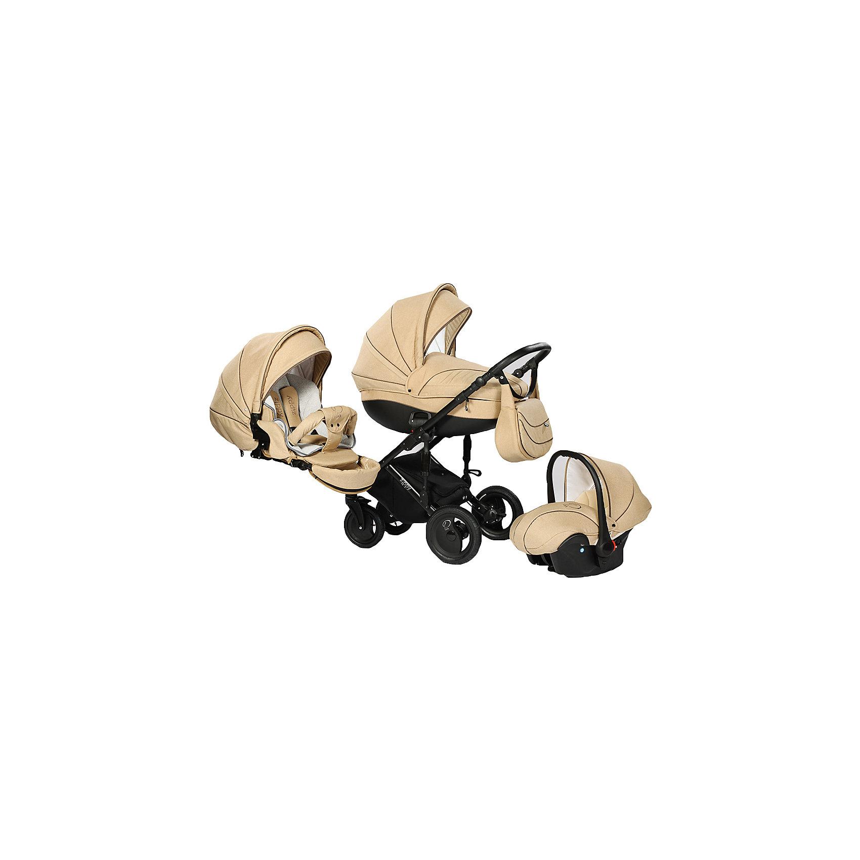 Коляска 3 в 1 PIA, Tutis, бежевый ленКоляска 3 в 1 PIA, Tutis, бежевый лен -это отличный и безопасный вариант для первых прогулок вашего малыша. Прогулочный блок устанавливается в двух направлениях. А с регулируемым подголовником в люльке вашему малышу будет ещё комфортнее и уютнее. Также регулируется и подножка по высоте. Тормоза, блокирующие два колеса одновременно уберегут коляску от столкновения. Люлька имеет вентиляционные отверстия в нижней части, что спасет малыша в жаркую погоду. Для удобства родителям ручка регулируется по высоте, а передние колёса - поворотные, с  возможностью и фиксации. Для изготовления коляски используется специально сотканная прочная, но нежная хлопчатобумажная ткань, а особая технология SILVER PLUS обеспечивает дополнительную защиту от микробов и аллергенов.<br>  Общая характеристика:<br>-Цвет:  бежевый лен<br>-Вес: 4,3 кг - люлька<br>          4,8кг - прогулочный блок<br>          2,85 кг - автомобильное кресло<br>-Размер: люлька- 87х39х24 см<br>                 прогулочный блок- 95х39х24 см <br>                 автомобильное кресло- 74х32х30 см<br>-Складывается книжкой<br>-Капюшон с панорамным окошком<br>-Пятиточечные ремни безопасности<br>-Два чехла на ноги( на люльки, на прогулочный блок)<br>-Дождевик<br>-Противомоскитная сетка<br>-Подвесная сумка<br><br>Дополнительная информация:<br>-Бренд: Tutis(тутис) Литва<br><br>Коляску 3 в 1 PIA, Tutis, бежевый лен  вы можете приобрести в нашем интернет- магазине.<br><br>Ширина мм: 930<br>Глубина мм: 600<br>Высота мм: 650<br>Вес г: 26150<br>Возраст от месяцев: 0<br>Возраст до месяцев: 36<br>Пол: Унисекс<br>Возраст: Детский<br>SKU: 5012367
