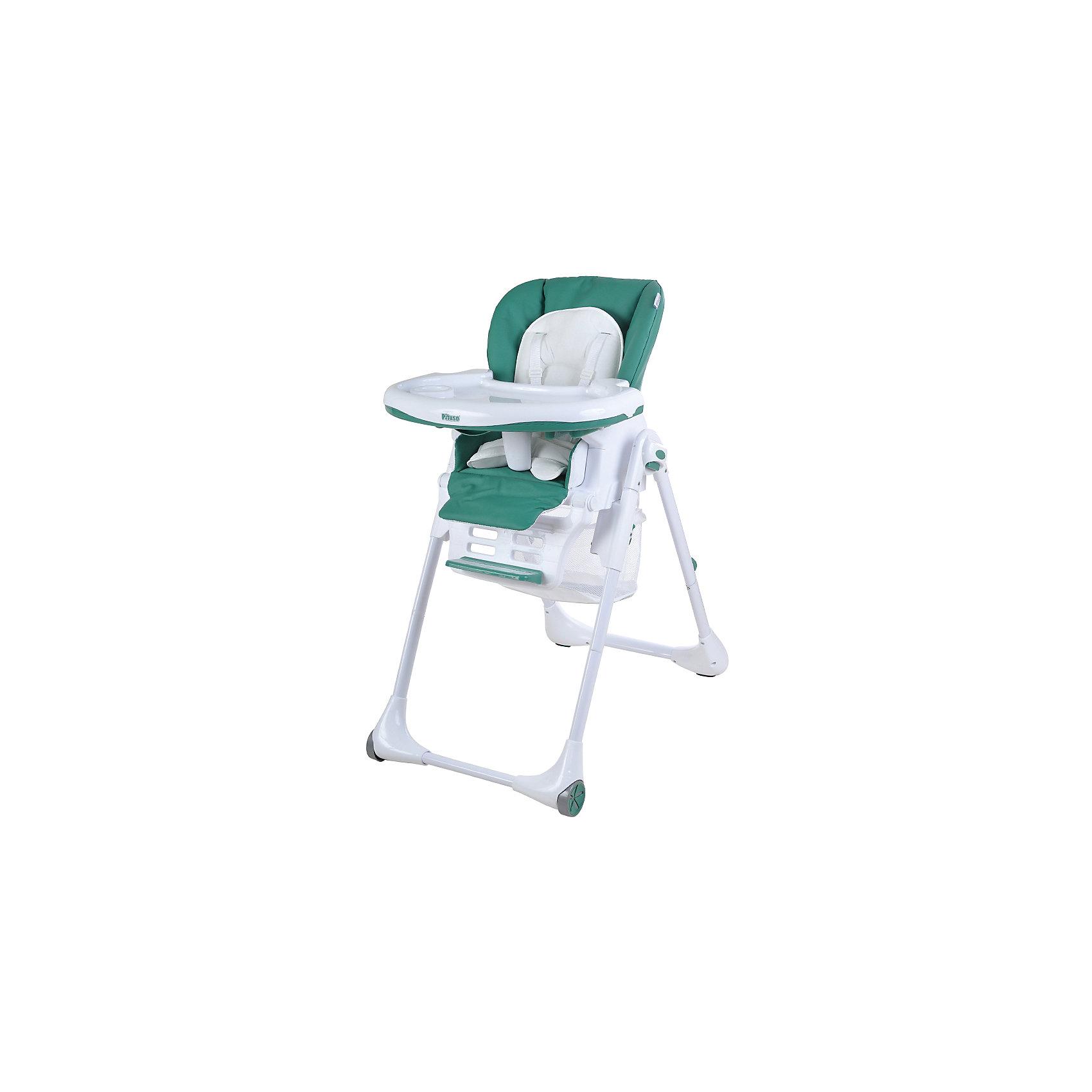 Pituso Стульчик для кормления ELCANTO, Pituso, ECO кожа, зеленый pituso стульчик для кормления bonito дружок попугай pituso белый