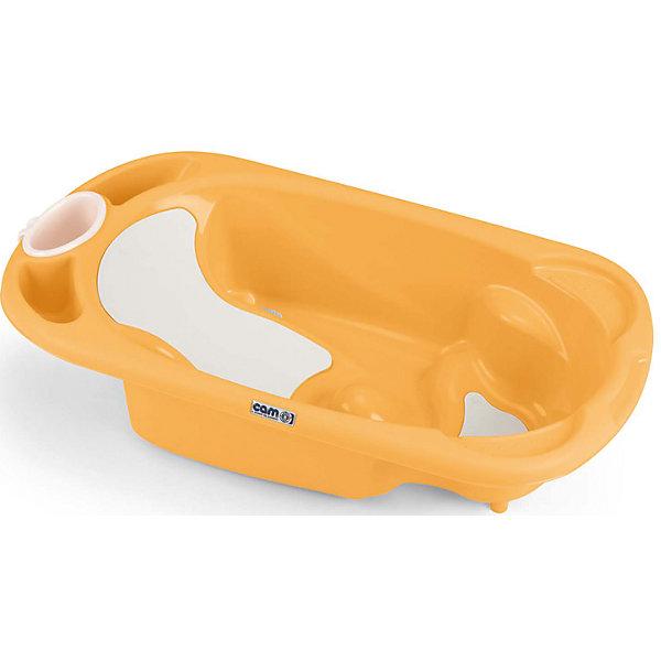 Ванночка Baby Bagno, CAM, оранжевыйДетские ванночки<br>Ванночка Baby Bagno, CAM, оранжевый обеспечивает безопасность и сохраняет правильную осанку малыша.<br>Анатомическая ванночка, сделанная из качественных и безвредных материалов, помогает малышу купаться без страха. Внутри ванночки есть сиденье и небольшие подлокотники. Кроме того, есть полочка для шампуня и мыла, а также отверстие для слива. После купания ванночку можно повесить на стену.<br><br>Дополнительная информация:<br><br>- возраст: от 0 до 12 месяцев<br>- размер: 53 x 96 x 24 см<br>- вес: 2,3 кг<br>- цвет: оранжевый<br><br>Ванночка Baby Bagno, CAM, оранжевый можно купить в нашем интернет магазине.<br><br>Ширина мм: 557<br>Глубина мм: 330<br>Высота мм: 975<br>Вес г: 2250<br>Возраст от месяцев: 0<br>Возраст до месяцев: 6<br>Пол: Унисекс<br>Возраст: Детский<br>SKU: 5013497