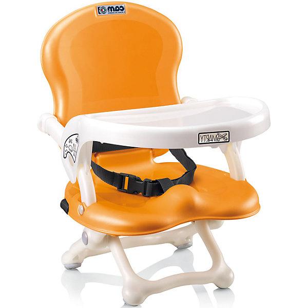 Стульчик для кормления Smarty Pop, CAM, оранжевыйСтульчики для кормления с 6 месяцев<br>Стульчик для кормления Smarty Pop, CAM, оранжевый – компактная модель для дома и дачи.<br>Тип стульчика – бустер. Он крепится к обычной мебели и может быть отрегулирован с помощью 4 уровней высоты сидения. Мягкое сидение и подлокотники делают сиденье комфортным для ребенка, а ремни безопасности защищают малыша от падения и не дают ему выбраться самостоятельно. <br><br> Дополнительная информация:<br><br>- цвет: оранжевый<br>- размер: 35х41х50 см<br>- вес: 1,7<br><br>Стульчик для кормления Smarty Pop, CAM, оранжевый можно купить в нашем интернет магазине.<br><br>Ширина мм: 600<br>Глубина мм: 435<br>Высота мм: 377<br>Вес г: 2000<br>Возраст от месяцев: 6<br>Возраст до месяцев: 36<br>Пол: Унисекс<br>Возраст: Детский<br>SKU: 5013520