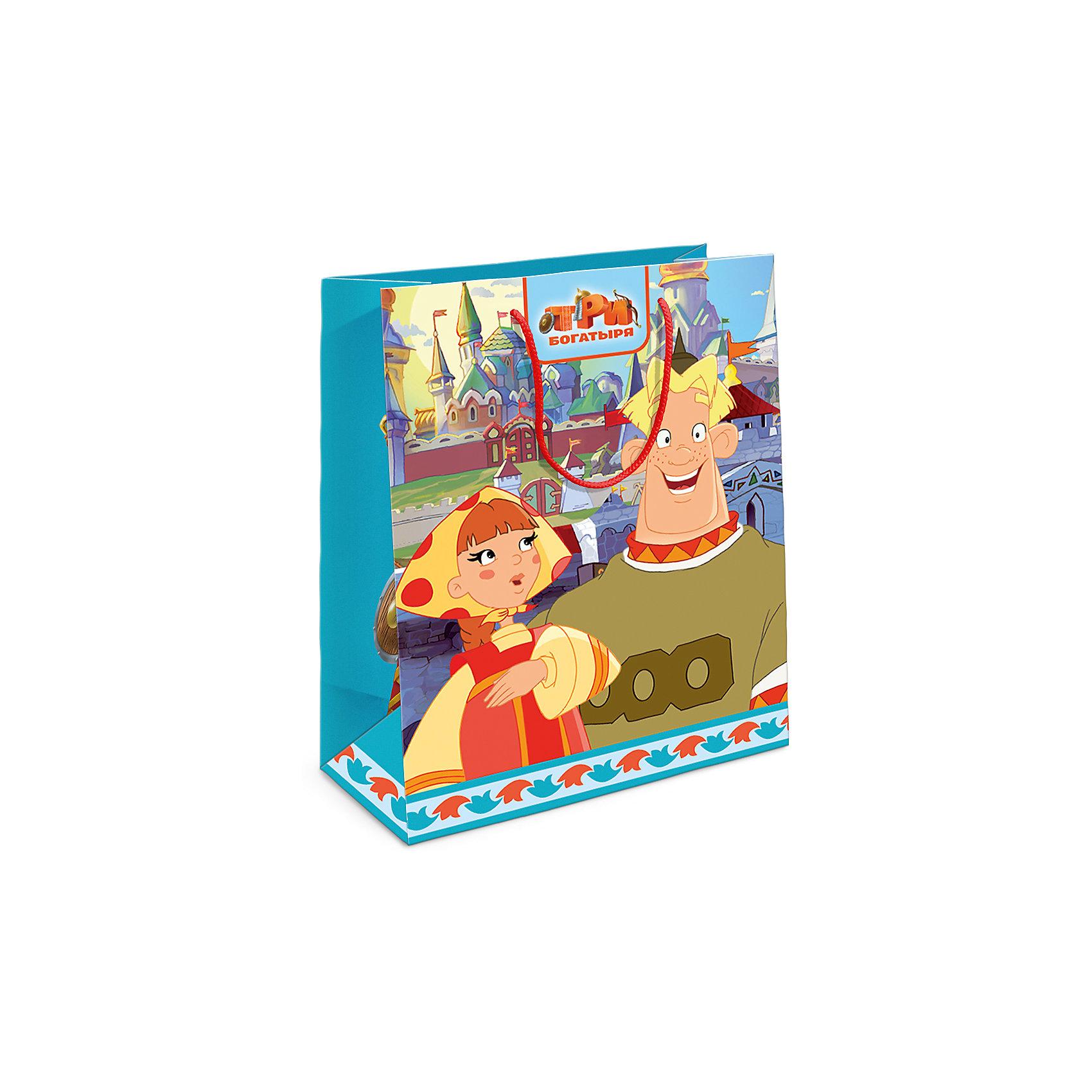 Росмэн Пакет подарочный Любава 230*180*100 пакет подарочный росмэн пеппа и ёлка 230 180 100мм