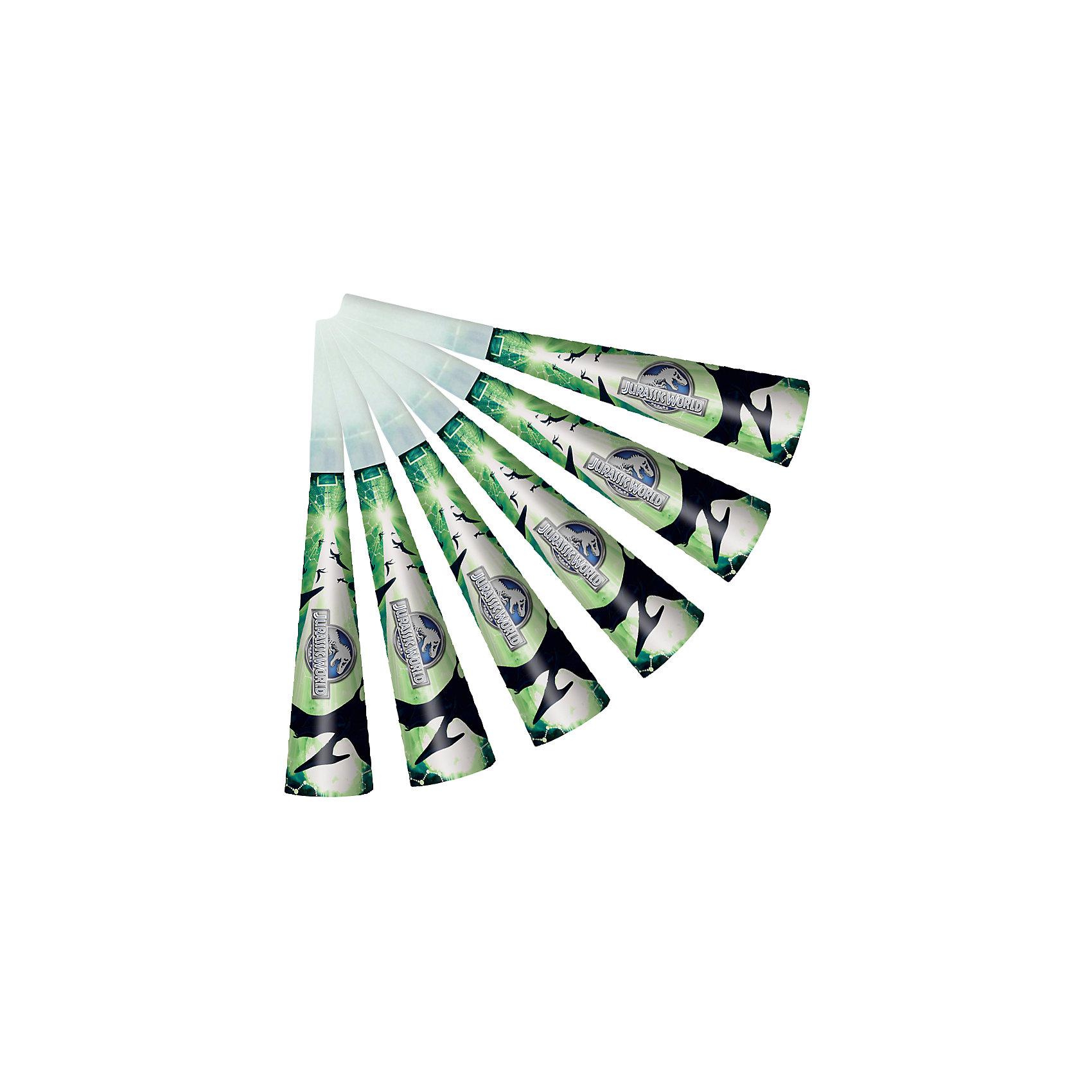 Дудочка 6шт, Парк Юрского периодаСтильные бумажные дудочки с динозаврами из фильма «Парк Юрского периода» развеселят ребятишек и помогут организовать много увлекательных игр и конкурсов, во время которых будет активно развиваться дыхательная система деток, что особенно полезно для их здорового развития.&#13;<br>В наборе 6 бумажных дудочек, декорированных привлекательным принтом. Вы также можете выбрать другие товары из данной серии: стаканы, тарелки, салфетки, язычки, колпаки, приглашение в конверте, скатерть, мыльные пузыри, подарочные пакеты и другие товары.<br><br>Ширина мм: 260<br>Глубина мм: 150<br>Высота мм: 35<br>Вес г: 40<br>Возраст от месяцев: 36<br>Возраст до месяцев: 120<br>Пол: Унисекс<br>Возраст: Детский<br>SKU: 5016472