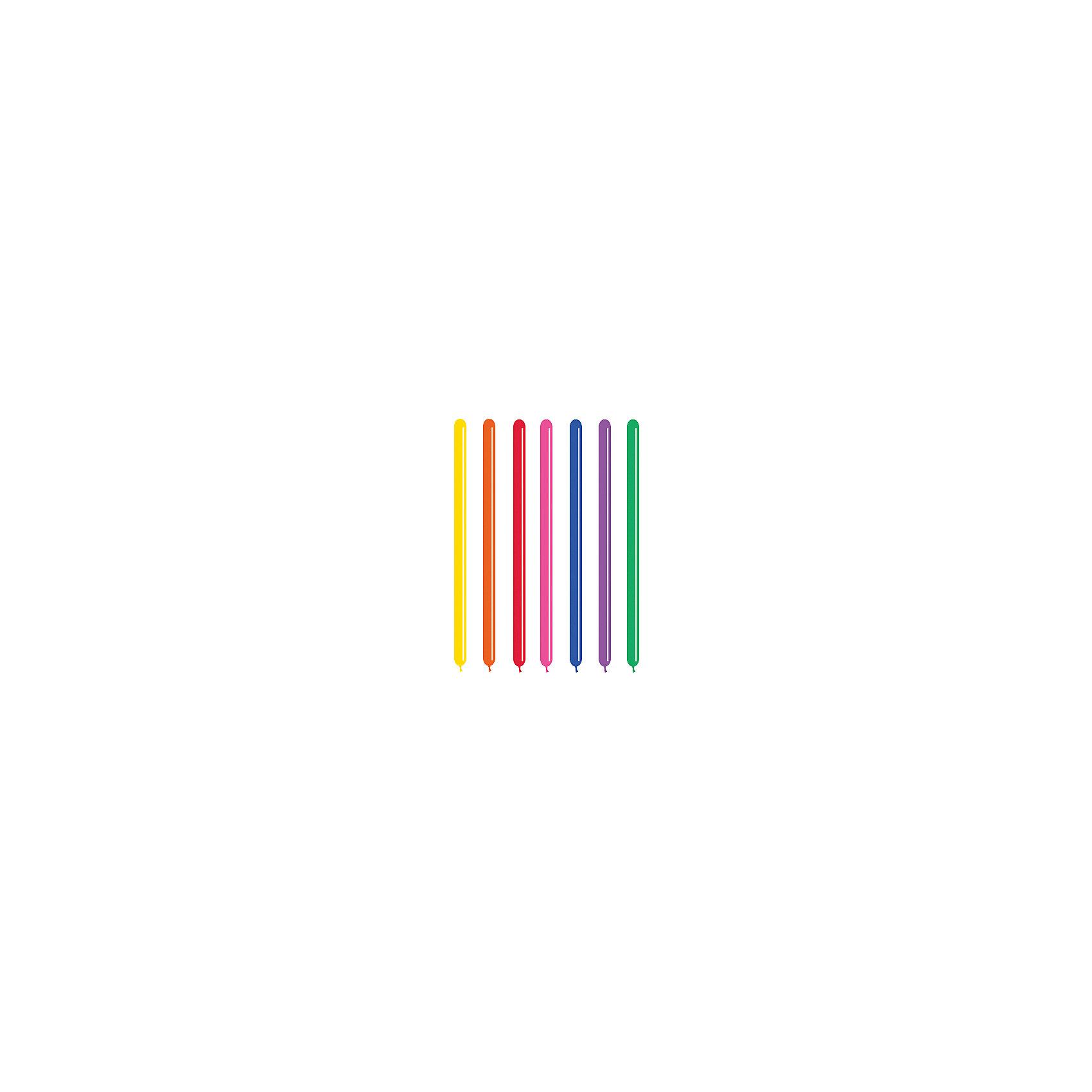 Шарики для моделирования, 260 см, 100 шт.Шарики для моделирования внесут яркие краски в любой праздник. Из них можно сделать самые разные фигурки, которые украсят интерьер и станут забавной игрушкой для малышей. Даже взрослые не удержатся от веселой улыбки при виде разноцветных воздушных зверушек и цветов.&#13;<br>В наборе «Olala» 100 латексных шаров для моделирования длиной 260 см. Цвет в ассортименте. Товар сертифицирован.<br><br>Ширина мм: 270<br>Глубина мм: 180<br>Высота мм: 50<br>Вес г: 210<br>Возраст от месяцев: 36<br>Возраст до месяцев: 120<br>Пол: Унисекс<br>Возраст: Детский<br>SKU: 5016492