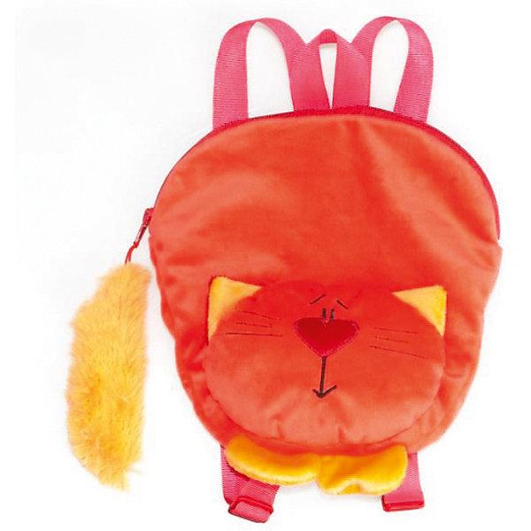 Рюкзак Котик-огонёкДетские рюкзаки<br>Рюкзак Котик-огонёк, Fancy.<br><br>Характеристика:<br><br>• Материал: текстиль.    <br>• Размер: 29х24 см.<br>• Удобная петля, текстильные плечевые ремни. <br>• Тип застежки: молния. <br>• Количество отделений: 1<br>• Мягкий, приятный на ощупь материал. <br>• Оригинальный дизайн. <br><br>Яркий рюкзачок в виде очаровательного рыжего котика непременно понравится ребенку. Модель оснащена текстильными плечевыми лямками и удобной петлей, застегивается на молнию, к которой прикреплен пушистый хвост. Рюкзак выполнен из высококачественных материалов, очень приятный на ощупь имеет одно достаточно вместительное отделение. <br><br>Рюкзак Котик-огонёк, Fancy, можно купить в нашем интернет-магазине.<br><br>Ширина мм: 290<br>Глубина мм: 240<br>Высота мм: 80<br>Вес г: 115<br>Возраст от месяцев: 36<br>Возраст до месяцев: 84<br>Пол: Женский<br>Возраст: Детский<br>SKU: 5016499