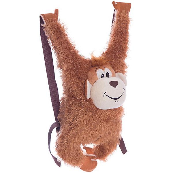 Сумка-рюкзак детская «Обезьянка»Детские рюкзаки<br>Сумка-рюкзак детская «Обезьянка», Fancy.<br><br>Характеристика:<br><br>• Материал: текстиль.  <br>• Размер: 20х8х53 см.<br>• Текстильные плечевые ремни. <br>• Тип застежки: молния. <br>• Количество отделений: 1<br>• Мягкий, приятный на ощупь материал. <br>• Оригинальный дизайн. <br><br>Оригинальный рюкзак, выполненный в виде озорной обезьянки, понравится как девочкам, так и мальчикам. Рюкзак имеет текстильные плечевые лямки, одно вместительное отделение, застегивается на пластиковую молнию. Аксессуар выполнен из искусственного гипоаллергенного меха, безопасного для детей, очень приятный на ощупь. <br><br>Сумку-рюкзак детскую «Обезьянка», Fancy, можно купить в нашем интернет-магазине.<br>Ширина мм: 530; Глубина мм: 230; Высота мм: 80; Вес г: 135; Возраст от месяцев: 36; Возраст до месяцев: 84; Пол: Женский; Возраст: Детский; SKU: 5016502;