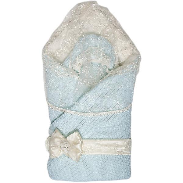 Конверт-одеяло Жемчужинка, Сонный гномик, голубойДетские конверты<br>Характеристики:<br><br>• Вид детского текстиля: конверт-одеяло<br>• Сезон: зима<br>• Температурный режим: от 0? С до -20? С<br>• Утеплитель: шелтер, 200 г/кв.м<br>• Пол: для мальчика<br>• Серия: Жемчужинка<br>• Тематика рисунка: без рисунка<br>• Материал: акрил, хлопок, натуральная овечья шерсть<br>• Цвет: голубой, белый<br>• Комплектация: конверт-одеяло, съемная вуаль на липучке, вязаная шапочка, пояс-бант <br>• Размеры одеяла: 90*90 см<br>• Упаковка: полиэтилен <br>• Вес в упаковке: 970 г<br>• Особенности ухода: машинная стирка при температуре 30 градусов без использования красящих и отбеливающих веществ<br><br>Конверт-одеяло на выписку Жемчужинка, Сонный гномик, голубой от отечественного торгового бренда выполнен с учетом международных требований к качеству и безопасности товаров для детей. Комплект предназначен для выписки из роддома в зимний период. Верхняя часть конверта выполнена из вязаного акрилового полотна, внутренняя – из трикотажа. Высокую степень утепления обеспечивает сочетание шелтера и натуральной овечьей шерсти. Шелтер – инновационный материал, который характеризуется сохранением теплоизоляционных свойств даже при частых стирках и длительном использовании. Для создания праздничного образа в комплекте предусмотрен вязаный чепчик, декорированный кружевом. У конверта имеется съемная вуаль на липучке и белый бант-пояс. Изделие отличается функциональностью, после выписки его можно использовать в качестве одеяла для сна или для прогулок в зимнее время года.<br><br>Конверт-одеяло на выписку Жемчужинка, Сонный гномик, голубой можно купить в нашем интернет-магазине.<br><br>Ширина мм: 460<br>Глубина мм: 80<br>Высота мм: 600<br>Вес г: 970<br>Возраст от месяцев: 0<br>Возраст до месяцев: 12<br>Пол: Мужской<br>Возраст: Детский<br>SKU: 5016516