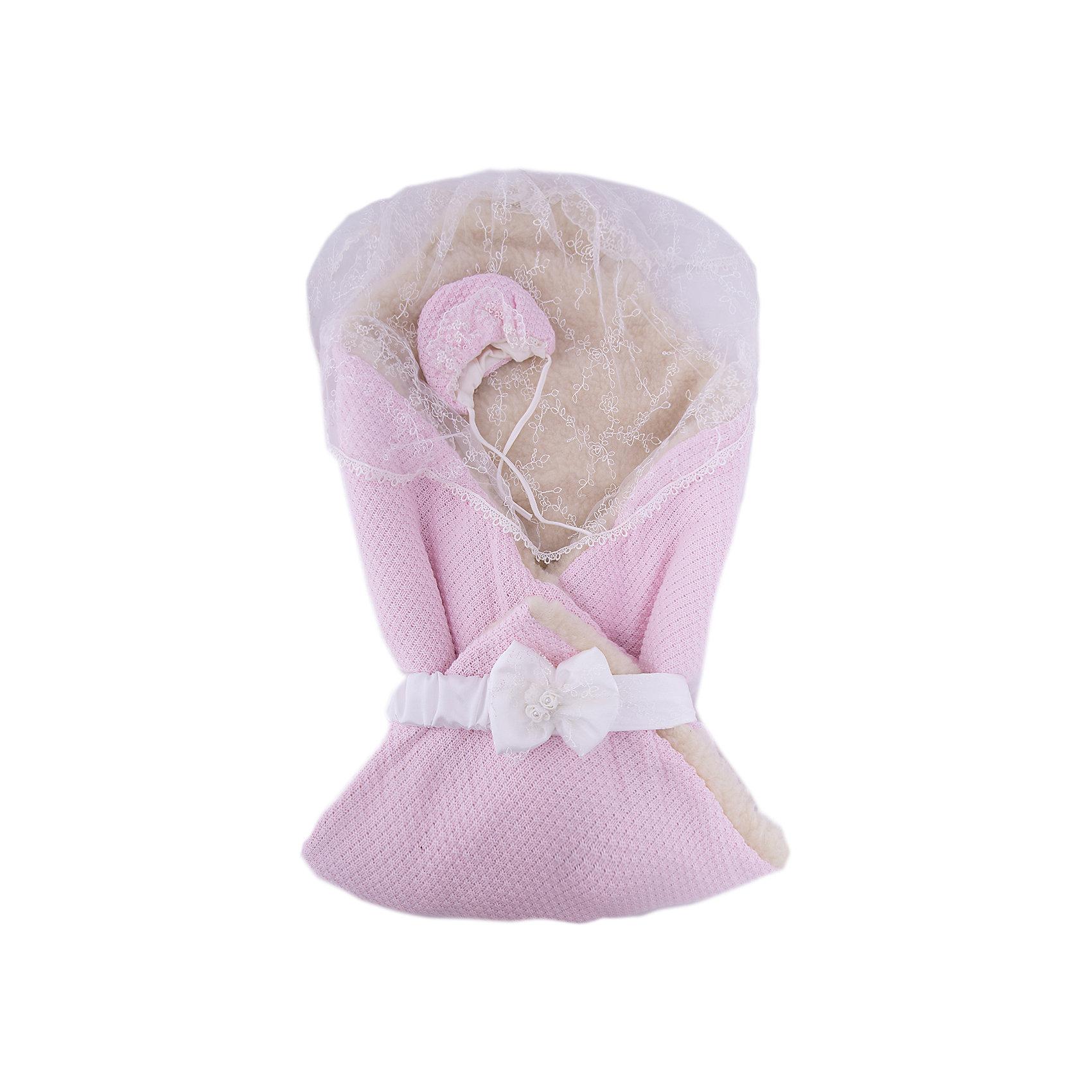 Конверт-одеяло Жемчужинка, Сонный гномик, розовый