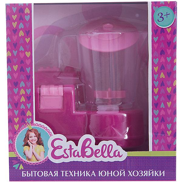 Игрушка Миксер, EstaBellaИгрушечная бытовая техника<br>Игрушка Миксер, EstaBella (Эстабелла).<br><br>Характеристики:<br><br>• полностью безопасен для ребенка<br>• материал: пластик<br>• вес: 240 грамм<br>• размер упаковки: 15х8х16 см<br><br>Блендер EstaBella прекрасно дополнит кухню маленькой хозяйки. С его помощью девочка научится пользоваться миксером и в дальнейшем с радостью поможет маме по хозяйству. Игрушка выполнена из безопасных материалов. Блендер EstaBella создан специально для маленьких помощниц!<br><br>Игрушку Миксер, EstaBella (Эстабелла) вы можете купить в нашем интернет-магазине.<br>Ширина мм: 160; Глубина мм: 80; Высота мм: 150; Вес г: 240; Возраст от месяцев: 36; Возраст до месяцев: 120; Пол: Женский; Возраст: Детский; SKU: 5017651;