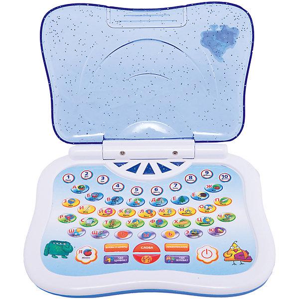 Обучающий компьютер Русский, KriblyBooДетские гаджеты<br>Обучающий компьютер Русский, KriblyBoo (Крибли Бу).<br><br>Характеристики:<br><br>• поможет изучить слова, буквы и цифры<br>• работает в шести режимах<br>• материал: пластик, металл<br>• батарейки: АА - 3 шт. (в комплект не входят)<br>• размер упаковки: 5х18,5х23 см<br>• вес: 300 грамм<br>• размер компьютера: 16х13 см<br><br>Обучающий компьютер KriblyBoo станет незаменимым помощником для родителей. С его помощью ребенок легко выучит цифры и буквы, а затем и закрепит свои знания. Компьютер работает в нескольких режимах: обучение цифрам, обучение буквам, произношение слов по буквам, проверка знаний и прослушивание песен. Каждый режим активируется нажатием на кнопку. При этом ребенок сам может выбрать букву или цифру, которую он желает изучить. Громкость звука игрушки регулируется. Компьютер имеет крышку, защищающую от влаги. С ярким компьютером процесс обучения превратится в настоящую игру!<br><br>Обучающий компьютер Русский, KriblyBoo (Крибли Бу) вы можете купить в нашем интернет-магазине.<br><br>Ширина мм: 230<br>Глубина мм: 185<br>Высота мм: 50<br>Вес г: 300<br>Возраст от месяцев: 36<br>Возраст до месяцев: 120<br>Пол: Женский<br>Возраст: Детский<br>SKU: 5017663