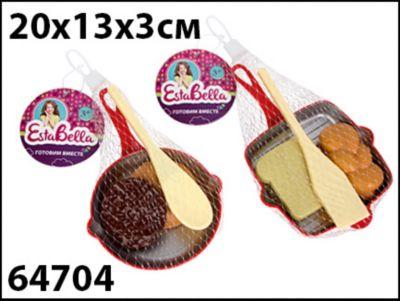 Набор Сковородка с продуктами и лопаткой 1, EstaBella