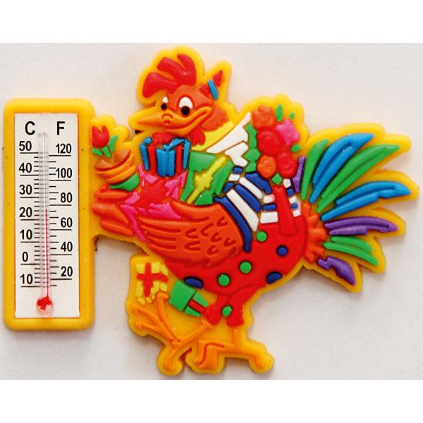 Термометр жидкостный бытовой ПЕТУШОК С ПОДАРКАМИ (6х5х0.5см)Новогодние сувениры<br>Термометр жидкостный бытовой ПЕТУШОК С ПОДАРКАМИ арт.42252/24 в декоративном корпусе из ПВХ на магнитном креплении из агломерированного феррита / 6х5х0.5см<br><br>Ширина мм: 5<br>Глубина мм: 50<br>Высота мм: 60<br>Вес г: 21<br>Возраст от месяцев: 60<br>Возраст до месяцев: 144<br>Пол: Унисекс<br>Возраст: Детский<br>SKU: 5017719