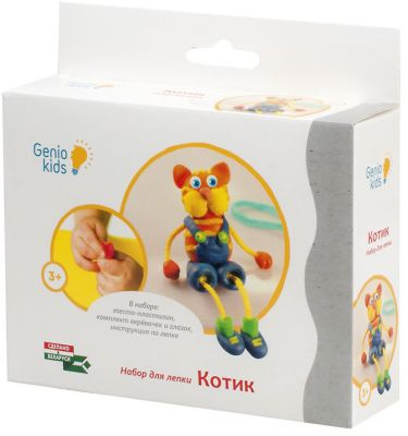 Genio Kids Набор для детского творчества Котик