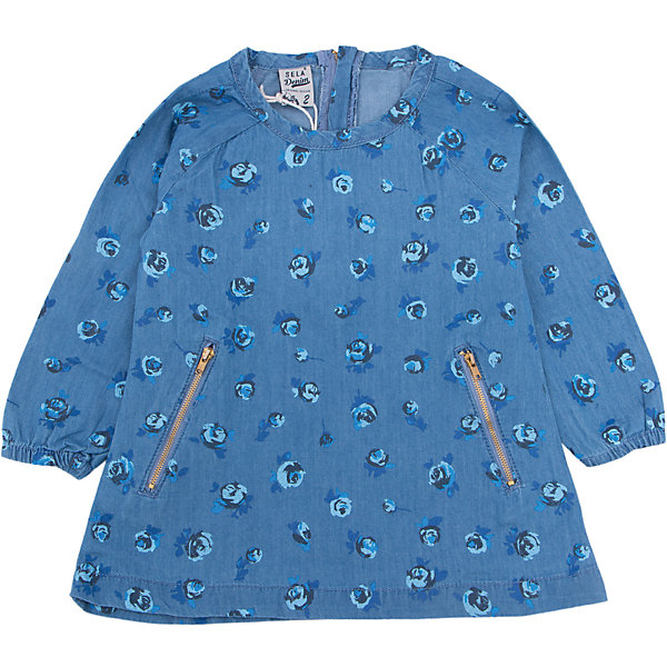 Платье для девочки SELAПлатья и сарафаны<br>Платье с принтом - очень модная вещь. Эта модель отлично сидит на ребенке, она смотрится стильно и нарядно. Приятная на ощупь ткань и качественная фурнитура обеспечивает ребенку комфорт. Модель станет отличной базовой вещью, которая будет уместна в различных сочетаниях.<br>Одежда от бренда Sela (Села) - это качество по приемлемым ценам. Многие российские родители уже оценили преимущества продукции этой компании и всё чаще приобретают одежду и аксессуары Sela.<br><br>Дополнительная информация:<br><br>цвет: синий;<br>материал: 100% хлопок;<br>с принтом;<br>длинный рукав.<br><br>Платье для девочки от бренда Sela можно купить в нашем интернет-магазине.<br>Ширина мм: 236; Глубина мм: 16; Высота мм: 184; Вес г: 177; Цвет: синий; Возраст от месяцев: 18; Возраст до месяцев: 24; Пол: Женский; Возраст: Детский; Размер: 92,116,110,104,98; SKU: 5020135;