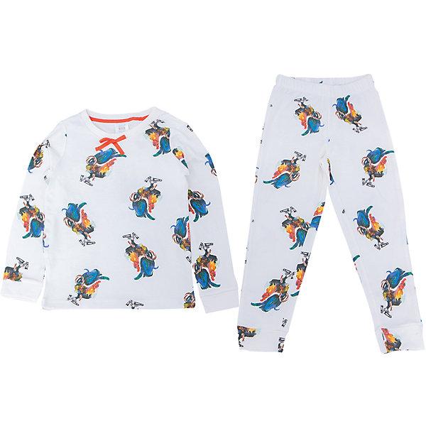 Пижама для девочки SELAПижамы и сорочки<br>Удобная пижама - неотъемлемая составляющая комфортного сна ребенка. Эта модель отлично сидит на девочке, она сшита из приятного на ощупь материала, мягкая и дышащая. Натуральный хлопок в составе ткани не вызывает аллергии и обеспечивает ребенку комфорт. В наборе - футболка с длинным рукавом и штаны, вещи украшены симпатичным принтом.<br>Одежда от бренда Sela (Села) - это качество по приемлемым ценам. Многие российские родители уже оценили преимущества продукции этой компании и всё чаще приобретают одежду и аксессуары Sela.<br><br>Дополнительная информация:<br><br>цвет: молочый;<br>материал: 100% хлопок;<br>принт;<br>трикотаж.<br><br>Пижаму для девочки от бренда Sela можно купить в нашем интернет-магазине.<br><br>Ширина мм: 281<br>Глубина мм: 70<br>Высота мм: 188<br>Вес г: 295<br>Цвет: белый<br>Возраст от месяцев: 24<br>Возраст до месяцев: 36<br>Пол: Женский<br>Возраст: Детский<br>Размер: 92/98,140/146,128/134,116/122,104/110<br>SKU: 5020256