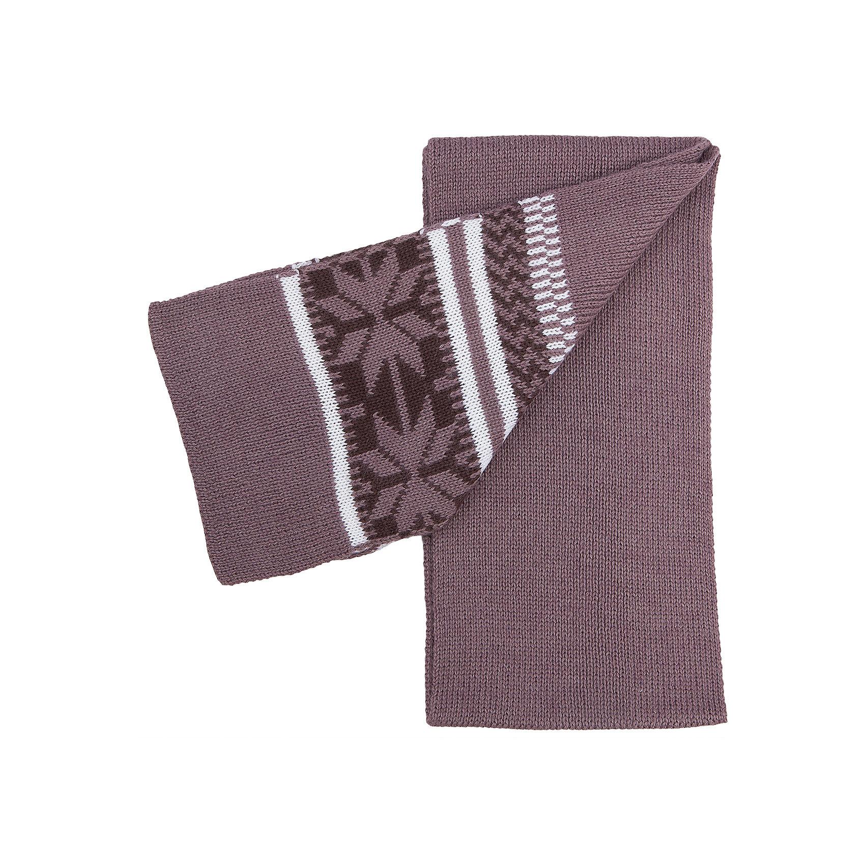 Шарф для мальчика SELAШарфы, платки<br>Стильный теплый шарф - незаменимая вещь в прохладное время года. Эта модель отлично сидит на ребенке, она сделана из плотного материала, позволяет гулять с комфортом на свежем воздухе зимой.Качественная пряжа не вызывает аллергии и обеспечивает ребенку комфорт. Модель будет уместна в различных сочетаниях.<br>Одежда от бренда Sela (Села) - это качество по приемлемым ценам. Многие российские родители уже оценили преимущества продукции этой компании и всё чаще приобретают одежду и аксессуары Sela.<br><br>Дополнительная информация:<br><br>вязаный узор;<br>материал: 70% акрил; 30% шерсть.<br><br>Шарф для мальчика от бренда Sela можно купить в нашем интернет-магазине.<br><br>Ширина мм: 88<br>Глубина мм: 155<br>Высота мм: 26<br>Вес г: 106<br>Цвет: коричневый<br>Возраст от месяцев: 24<br>Возраст до месяцев: 144<br>Пол: Мужской<br>Возраст: Детский<br>Размер: one size<br>SKU: 5020274