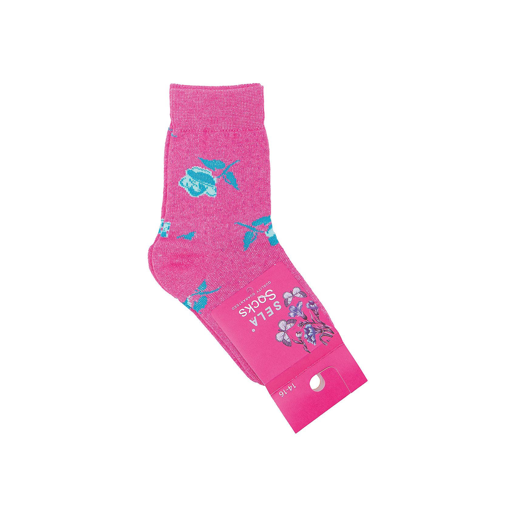 Носки для девочки SELAНоски<br>Удобные носки - неотъемлемая составляющая комфорта ребенка. Эта модель отлично сидит на девочке, она сшита из приятного на ощупь материала, мягкая и дышащая. Натуральный хлопок в составе ткани не вызывает аллергии и обеспечивает ребенку комфорт. Мягкая резинка не сдавливает ногу.<br>Одежда от бренда Sela (Села) - это качество по приемлемым ценам. Многие российские родители уже оценили преимущества продукции этой компании и всё чаще приобретают одежду и аксессуары Sela.<br><br>Дополнительная информация:<br><br>цвет: разноцветный;<br>материал:75% хлопок, 20% ПЭ, 5% эластан;<br>мягкая резинка;<br>трикотаж.<br><br>Носки для девочки от бренда Sela можно купить в нашем интернет-магазине.<br><br>Ширина мм: 87<br>Глубина мм: 10<br>Высота мм: 105<br>Вес г: 115<br>Цвет: розовый<br>Возраст от месяцев: 96<br>Возраст до месяцев: 108<br>Пол: Женский<br>Возраст: Детский<br>Размер: 29-32,32-35,23-26,26-29<br>SKU: 5020278