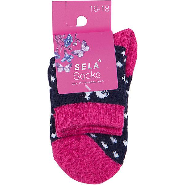 Носки для девочки SELAНоски<br>Удобные носки - неотъемлемая составляющая комфорта ребенка. Эта модель отлично сидит на девочке, она сшита из приятного на ощупь материала, мягкая и дышащая. Натуральный хлопок в составе ткани не вызывает аллергии и обеспечивает ребенку комфорт. Мягкая резинка не сдавливает ногу.<br>Одежда от бренда Sela (Села) - это качество по приемлемым ценам. Многие российские родители уже оценили преимущества продукции этой компании и всё чаще приобретают одежду и аксессуары Sela.<br><br>Дополнительная информация:<br><br>цвет: разноцветный;<br>материал: 63% ПЭ, 15% ангора, 10% вискоза, 5% шерсть, 5% ПА, 2% эластан;<br>мягкая резинка;<br>трикотаж.<br><br>Носки для девочки от бренда Sela можно купить в нашем интернет-магазине.<br>Ширина мм: 87; Глубина мм: 10; Высота мм: 105; Вес г: 115; Цвет: розовый; Возраст от месяцев: 96; Возраст до месяцев: 108; Пол: Женский; Возраст: Детский; Размер: 29-32,26-29,32-35; SKU: 5020283;