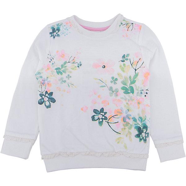 Толстовка для девочки SELAТолстовки<br>Толстовка для девочки SELA<br><br>Характеристики:<br><br>• Цвет молочный.<br>• Рукав длинный.<br>• Силуэт прямой.<br>• Состав:65% хлопок, 35% полиэстер.<br><br><br>Симпатичный джемпер для девочки от признанного лидера по созданию коллекций одежды в стиле casual - SELA. Красивый джемпер из хлопкового трикотажа молочного цвета украшен стильным цветочным принтом . Натуральный хлопок в составе изделия делает его дышащим, приятным на ощупь и гипоаллергенным. С таким джемпером можно создать много разных ансамблей - одинаково хорошо будет смотреться и нарядная юбочка и классические джинсы.<br><br>Джемпер для девочки SELA, можно купить в нашем интернет - магазине.<br><br>Ширина мм: 190<br>Глубина мм: 74<br>Высота мм: 229<br>Вес г: 236<br>Цвет: белый<br>Возраст от месяцев: 36<br>Возраст до месяцев: 48<br>Пол: Женский<br>Возраст: Детский<br>Размер: 104,92,116,110,98<br>SKU: 5020293