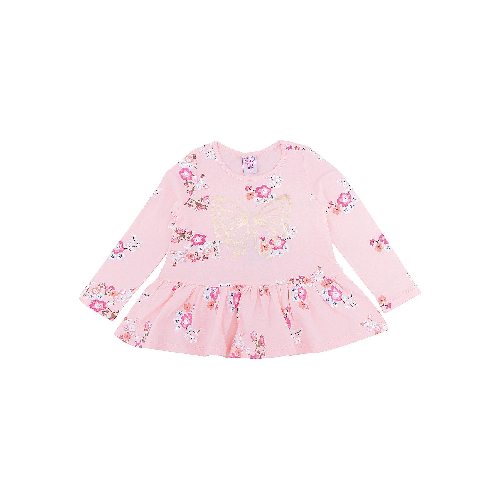 Платье для девочки SELAПлатья и сарафаны<br>Платье с принтом - очень модная вещь. Эта модель отлично сидит на ребенке, она смотрится стильно и нарядно. Приятная на ощупь ткань и качественная фурнитура обеспечивает ребенку комфорт. Модель станет отличной базовой вещью, которая будет уместна в различных сочетаниях.<br>Одежда от бренда Sela (Села) - это качество по приемлемым ценам. Многие российские родители уже оценили преимущества продукции этой компании и всё чаще приобретают одежду и аксессуары Sela.<br><br>Дополнительная информация:<br><br>цвет: розовый;<br>материал: 100% хлопок;<br>с принтом;<br>длинный рукав.<br><br>Платье для девочки от бренда Sela можно купить в нашем интернет-магазине.<br><br>Ширина мм: 236<br>Глубина мм: 16<br>Высота мм: 184<br>Вес г: 177<br>Цвет: розовый<br>Возраст от месяцев: 24<br>Возраст до месяцев: 36<br>Пол: Женский<br>Возраст: Детский<br>Размер: 98,116,92,104,110<br>SKU: 5020395