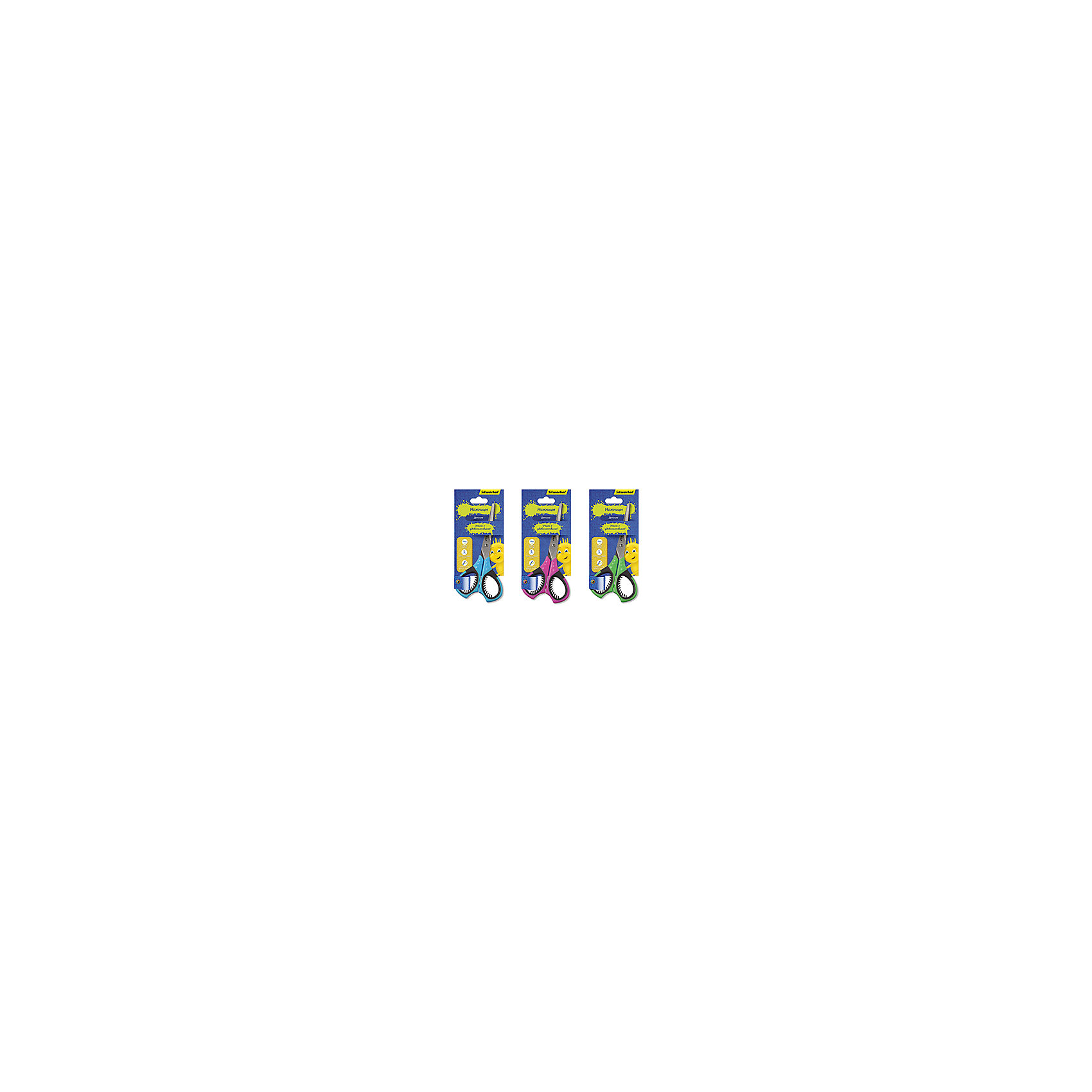 Silwerhof Ножницы детские, ДЖИНСОВАЯ КОЛЛЕКЦИЯ, 15см silwerhof ручка гелевая набор 6шт джинсовая коллекция