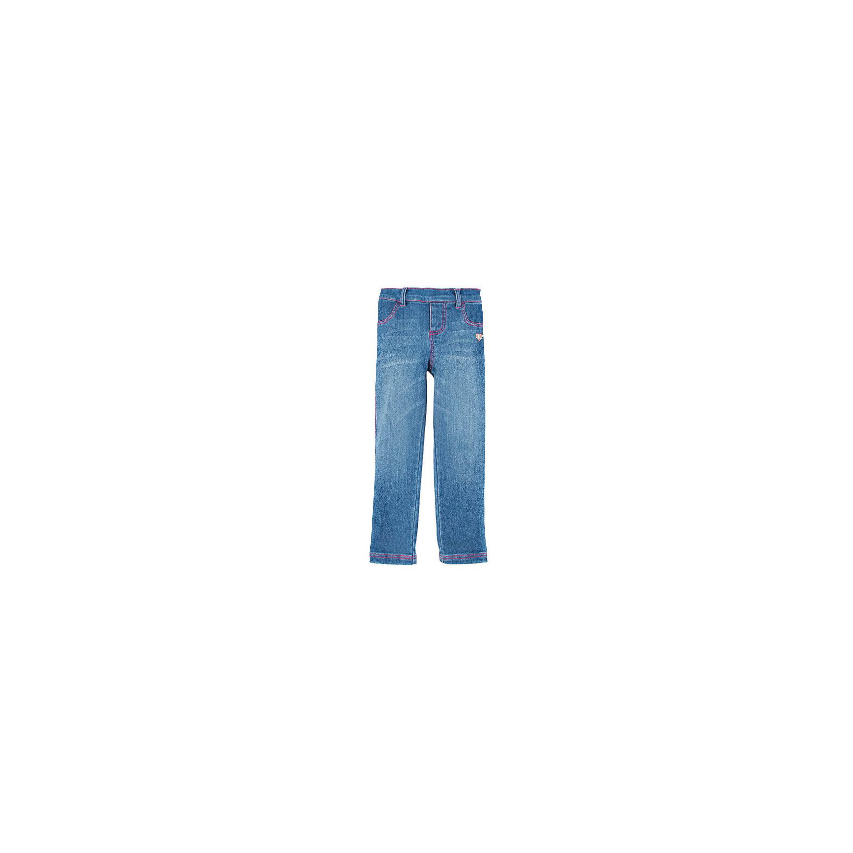 Джинсы для девочки HatleyДжинсовая одежда<br>Джинсы для девочки Hatley<br><br>Характеристики:<br><br>• Состав: 70% хлопок, 28% полиэстер, 2% спандекс<br>• Цвет: синий<br><br>Качественные и стильные джинсы для девочки. Джинсы без застежек, на мягкой резинке сверху и есть возможность вставить дополнительно ремень. На брюках стилизация под карманы и молнию, поэтому выглядят такие лосины как настоящие джинсы. Кроме этого есть маленький рисунок сердечко под кармашком. Внизу простроченные свободные штанины.<br><br>Джинсы для девочки Hatley можно купить в нашем интернет-магазине.<br><br>Ширина мм: 215<br>Глубина мм: 88<br>Высота мм: 191<br>Вес г: 336<br>Цвет: синий<br>Возраст от месяцев: 36<br>Возраст до месяцев: 48<br>Пол: Женский<br>Возраст: Детский<br>Размер: 104,92,122,128,110,116,98<br>SKU: 5020588