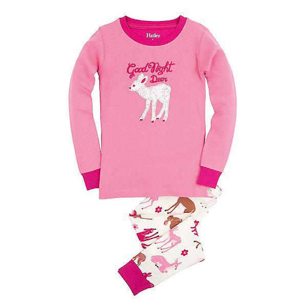 Пижама для девочки HatleyПижамы и сорочки<br>Пижама для девочки Hatley<br><br>Характеристики:<br><br>• Цвет: розовый/белый<br>• Материал: 100% хлопок<br><br>Милая и яркая пижама для девочки сделана из качественного материала, который не вызывает аллергию. Манжеты внизу на штанишках и на рукавах делают пижаму еще теплее, ведь они не позволяют пижамке «задраться» во время сна. Маленькие оленята, изображенные на пижаме, не смогут оставить равнодушной юную принцессу.<br><br>Пижаму для девочки Hatley можно купить в нашем интернет-магазине.<br><br>Ширина мм: 281<br>Глубина мм: 70<br>Высота мм: 188<br>Вес г: 295<br>Цвет: розовый/белый<br>Возраст от месяцев: 18<br>Возраст до месяцев: 24<br>Пол: Женский<br>Возраст: Детский<br>Размер: 92,104,122,128,110,116,98<br>SKU: 5020596