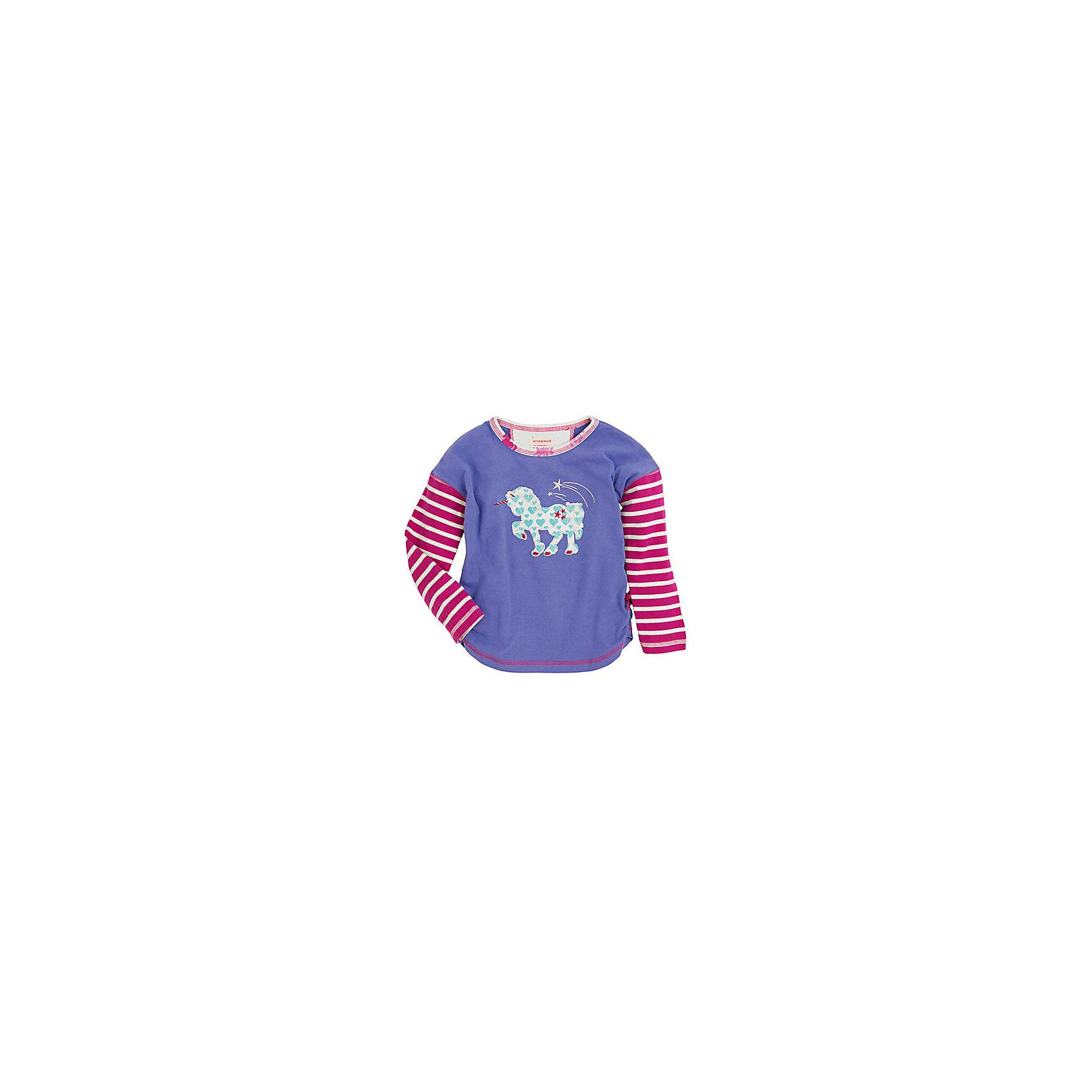Футболка с длинным рукавом для девочки HatleyФутболки с длинным рукавом<br>Футболка с длинным рукавом для девочки Hatley<br><br>Характеристики:<br><br>• Состав: 100% хлопок<br>• Цвет: сиреневый, красный<br><br>Красивая и модная футболка с длинными рукавами идеально подойдет для летней прохладной погоды или для носки в помещении. Благодаря тому, что ткань натуральная и не вызывает аллергии, ребенок сможет бегать и прыгать, не боясь, что вспотеет и на коже будут раздражения. Яркий и забавный принт-аппликация с Единорогом делает футболку еще и очень привлекательной. Рукава словно вставлены в кофту или под футболкой есть дополнительная водолазка. Такой стиль очень нравится детям.<br><br>Футболку с длинным рукавом для девочки Hatley можно купить в нашем интернет-магазине.<br><br>Ширина мм: 230<br>Глубина мм: 40<br>Высота мм: 220<br>Вес г: 250<br>Цвет: сиреневый<br>Возраст от месяцев: 60<br>Возраст до месяцев: 72<br>Пол: Женский<br>Возраст: Детский<br>Размер: 116,110,98,104,92,122,128<br>SKU: 5020632