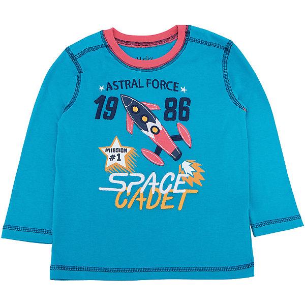 Футболка с длинным рукавом для мальчика HatleyФутболки с длинным рукавом<br>Футболка с длинным рукавом для мальчика Hatley<br><br>Характеристики:<br><br>• Состав: 100% хлопок<br>• Цвет: голубой<br><br>Красивая и модная футболка с длинными рукавами идеально подойдет для летней прохладной погоды или для носки в помещении. Благодаря тому, что ткань натуральная и не вызывает аллергии, ребенок сможет бегать и прыгать, не боясь, что вспотеет и на коже будут раздражения. Яркий и забавный принт-аппликация с ракетой делает футболку еще и очень привлекательной. Прострочка рукава, на плечах и внизу кофты делает дизайн футболки неповторимым.<br><br>Футболку с длинным рукавом для мальчика Hatley можно купить в нашем интернет-магазине.<br><br>Ширина мм: 230<br>Глубина мм: 40<br>Высота мм: 220<br>Вес г: 250<br>Цвет: голубой<br>Возраст от месяцев: 18<br>Возраст до месяцев: 24<br>Пол: Мужской<br>Возраст: Детский<br>Размер: 92,104,98,110<br>SKU: 5020640