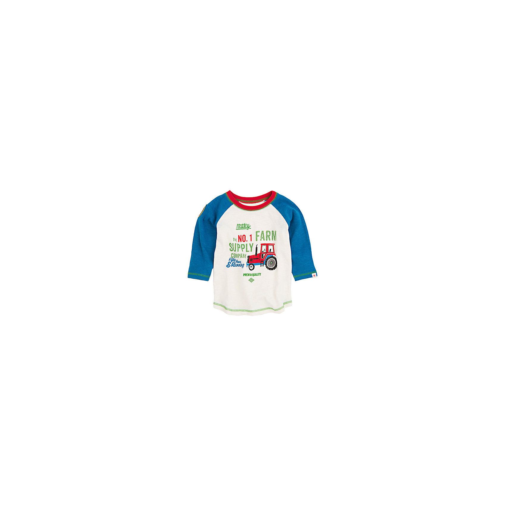 Футболка с длинным рукавом для мальчика HatleyФутболки с длинным рукавом<br>Футболка с длинным рукавом для мальчика Hatley<br><br>Характеристики:<br><br>• Состав: 100% хлопок<br>• Цвет: белый, синий<br><br>Красивая и модная футболка с длинными рукавами идеально подойдет для летней прохладной погоды или для носки в помещении. Благодаря тому, что ткань натуральная и не вызывает аллергии, ребенок сможет бегать и прыгать, не боясь, что вспотеет и на коже будут раздражения. Яркий и забавный принт-аппликация делает футболку еще и очень привлекательной. Контраст рукавов и кофты, прострочка воротника, рукавов и низа делает дизайн футболки неповторимым.<br><br>Футболку с длинным рукавом для мальчика Hatley можно купить в нашем интернет-магазине.<br><br>Ширина мм: 230<br>Глубина мм: 40<br>Высота мм: 220<br>Вес г: 250<br>Цвет: белый<br>Возраст от месяцев: 36<br>Возраст до месяцев: 48<br>Пол: Мужской<br>Возраст: Детский<br>Размер: 104,92,110,98<br>SKU: 5020653
