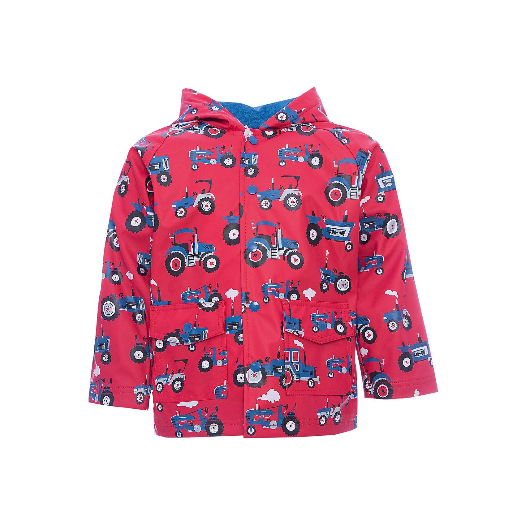 Плащ для мальчика HatleyВерхняя одежда<br>Плащ для мальчика Hatley<br><br>Характеристики:<br><br>• Состав: верх - 100%полиуретан, подкладка -100% полиэстер<br>• Цвет: красный<br><br>Красивый и яркий плащ с уникальным дизайном не оставит ребенка равнодушным. У плаща два небольших кармана, удобный капюшон и крючок, чтобы повесить вещь на вешалку. Внутри плаща махровая подкладка, которая придает дополнительное тепло. Застегивается плащ на пуговки, которые может застегнуть ребенок самостоятельно. <br><br>Плащ для мальчика Hatley можно купить в нашем интернет-магазине.<br><br>Ширина мм: 356<br>Глубина мм: 10<br>Высота мм: 245<br>Вес г: 519<br>Цвет: красный<br>Возраст от месяцев: 36<br>Возраст до месяцев: 48<br>Пол: Мужской<br>Возраст: Детский<br>Размер: 98,104,92,110<br>SKU: 5020716