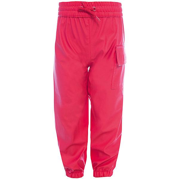 Непромокаемые брюки для девочки HatleyВерхняя одежда<br>Брюки для девочки Hatley<br><br>Характеристики: <br><br>• Состав: 100% полиуретан<br>• Цвет: красный<br><br>Непромокаемые брюки из 100% полиуретана защитят ноги ребенка от любого, даже очень сильного дождя. Внизу брюки «стянуты», что позволяет носить их внутрь резиновых сапог. Резинка сверху и внизу очень мягкая, не травмирует кожу ребенка. Сверху дополнительно можно затянуть с помощью веревочки. Кроме этого на штанах есть большой карман.<br><br>Брюки для девочки Hatley можно купить в нашем интернет-магазине.<br>Ширина мм: 215; Глубина мм: 88; Высота мм: 191; Вес г: 336; Цвет: красный; Возраст от месяцев: 72; Возраст до месяцев: 84; Пол: Женский; Возраст: Детский; Размер: 98,92,104,116,110,128,122; SKU: 5020732;