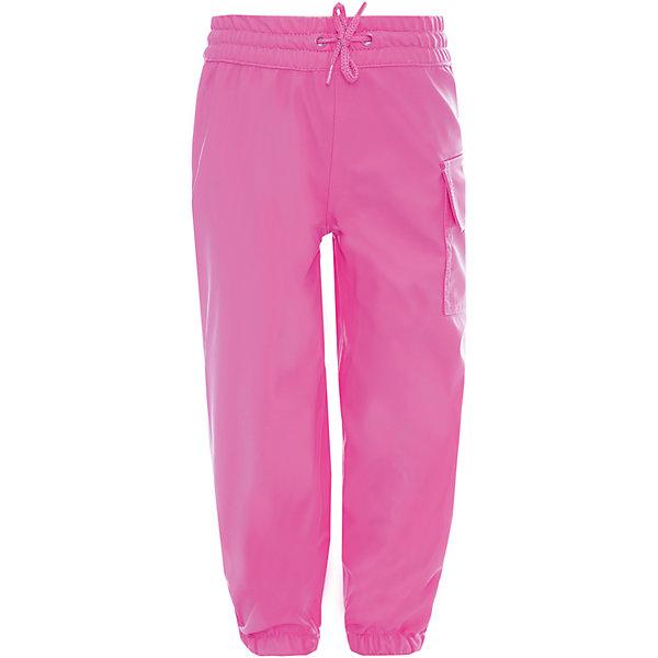 Непромокаемые брюки для девочки HatleyВерхняя одежда<br>Брюки для девочки Hatley<br><br>Характеристики: <br><br>• Состав: 100% полиуретан<br>• Цвет: розовый<br><br>Непромокаемые брюки из 100% полиуретана защитят ноги ребенка от любого, даже очень сильного дождя. Внизу брюки «стянуты», что позволяет носить их внутрь резиновых сапог. Резинка сверху и внизу очень мягкая, не травмирует кожу ребенка. Сверху дополнительно можно затянуть с помощью веревочки. Кроме этого на штанах есть большой карман.<br><br>Брюки для девочки Hatley можно купить в нашем интернет-магазине.<br><br>Ширина мм: 215<br>Глубина мм: 88<br>Высота мм: 191<br>Вес г: 336<br>Цвет: розовый<br>Возраст от месяцев: 18<br>Возраст до месяцев: 24<br>Пол: Женский<br>Возраст: Детский<br>Размер: 92<br>SKU: 5020748