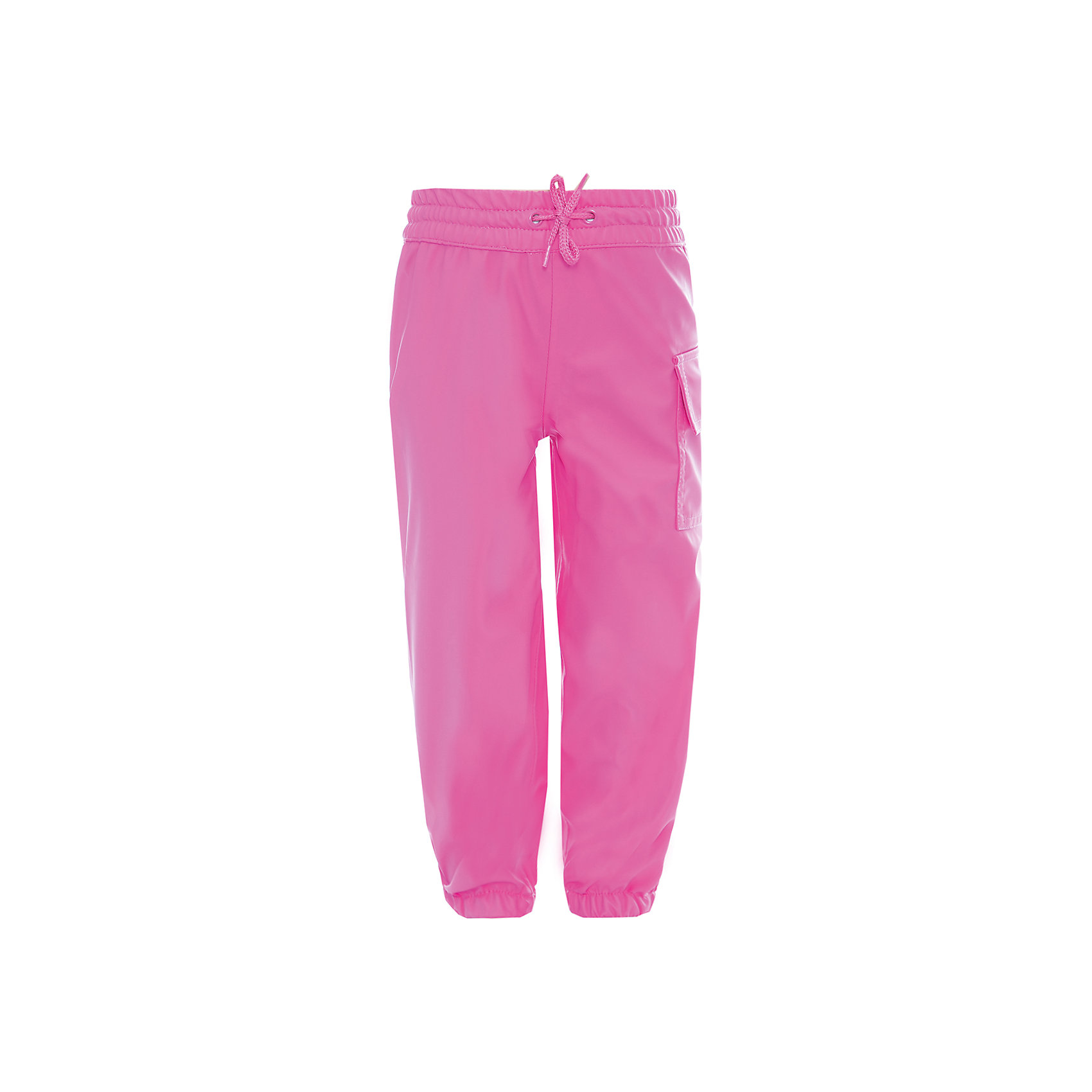 Брюки для девочки HatleyВерхняя одежда<br>Брюки для девочки Hatley<br><br>Характеристики: <br><br>• Состав: 100% полиуретан<br>• Цвет: розовый<br><br>Непромокаемые брюки из 100% полиуретана защитят ноги ребенка от любого, даже очень сильного дождя. Внизу брюки «стянуты», что позволяет носить их внутрь резиновых сапог. Резинка сверху и внизу очень мягкая, не травмирует кожу ребенка. Сверху дополнительно можно затянуть с помощью веревочки. Кроме этого на штанах есть большой карман.<br><br>Брюки для девочки Hatley можно купить в нашем интернет-магазине.<br><br>Ширина мм: 215<br>Глубина мм: 88<br>Высота мм: 191<br>Вес г: 336<br>Цвет: розовый<br>Возраст от месяцев: 18<br>Возраст до месяцев: 24<br>Пол: Женский<br>Возраст: Детский<br>Размер: 92<br>SKU: 5020748